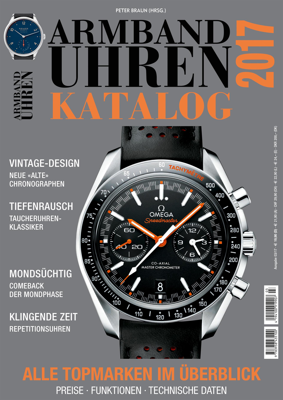 Cover Armbanduhren Katalog 2017