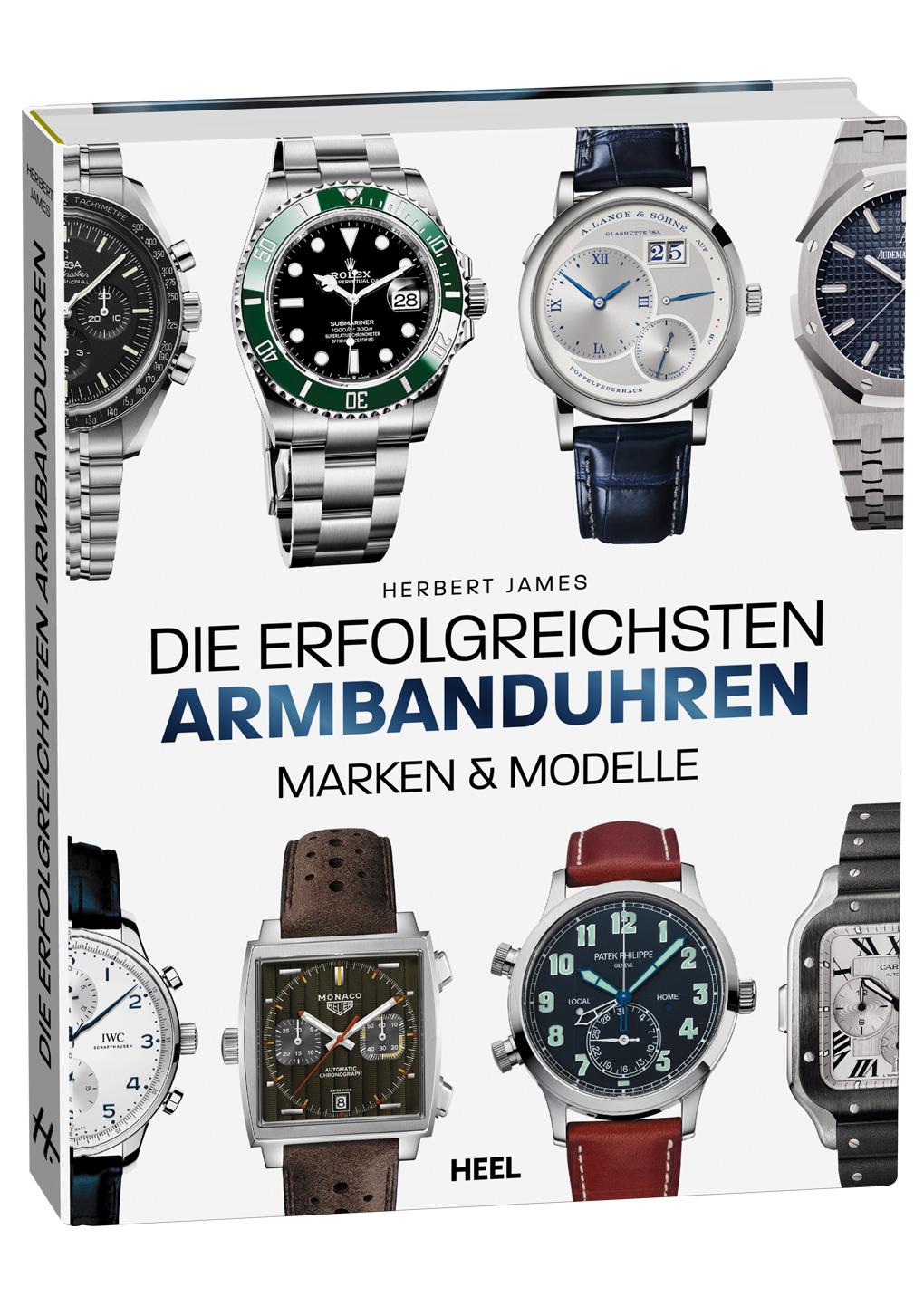 Cover die erfolgreichsten Armbanduhren