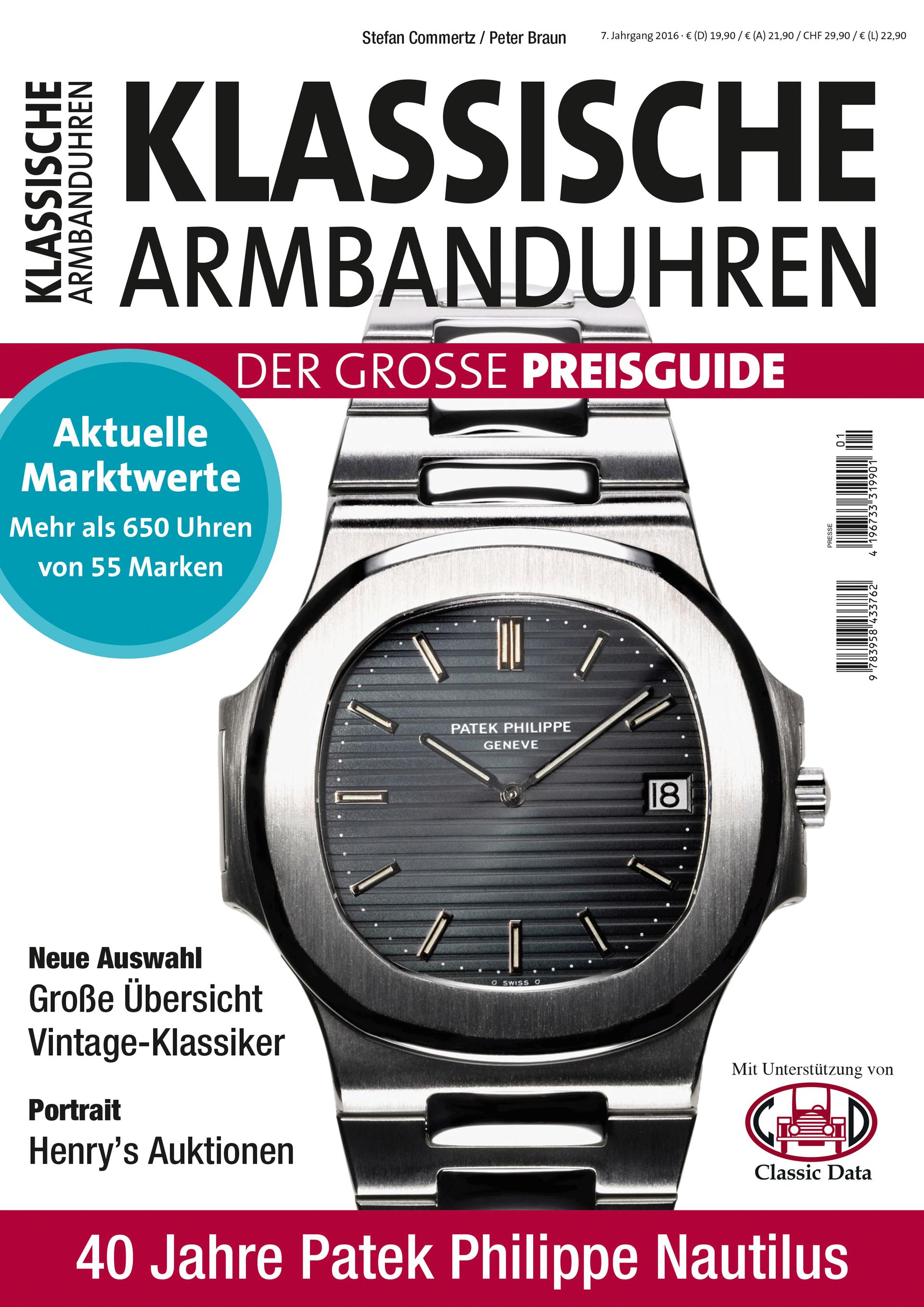 Cover Klassische Armbanduhren
