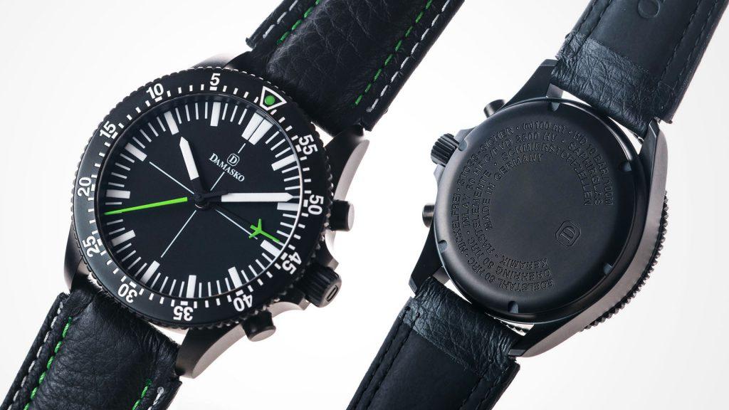 Damasko Chronograph DC 80 Black