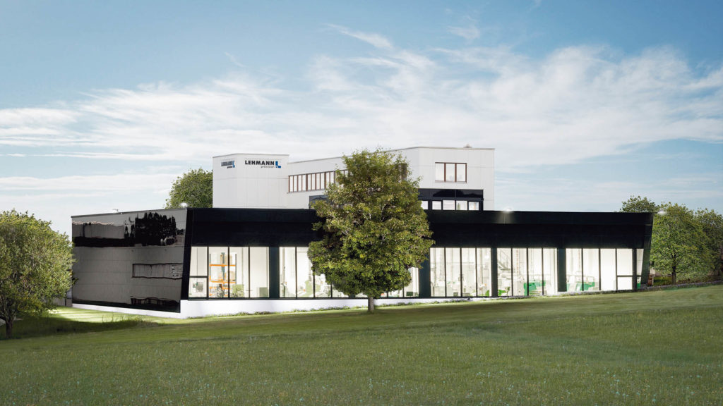 Blick in die Zukunft: So wird die neue Manufaktur von Lehmann Präzisionsuhren in Hardt aussehen, die 2018 fertiggestellt werden soll