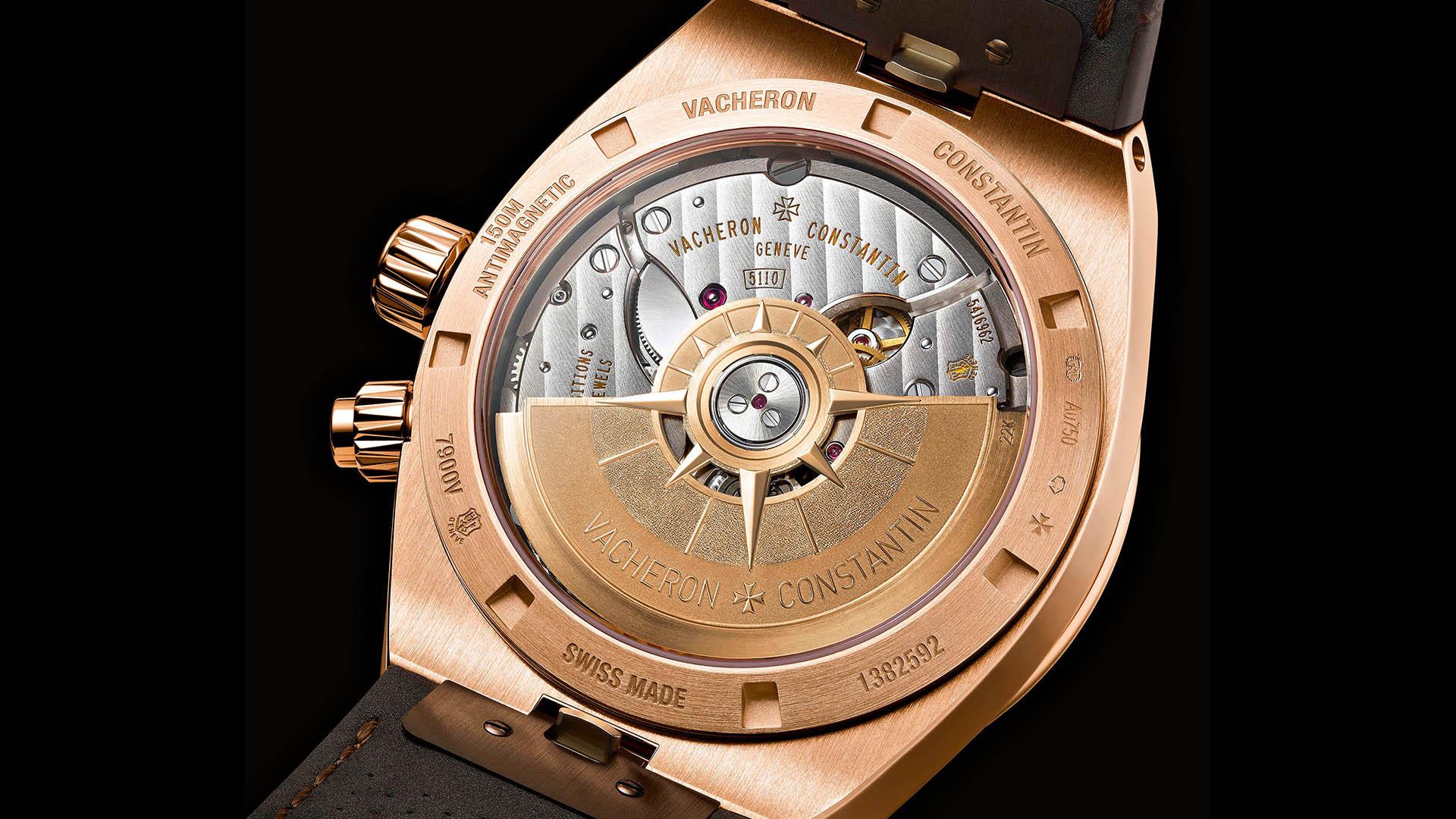 Vacheron Constantin Overseas Dual Time Rotgold Rückseite