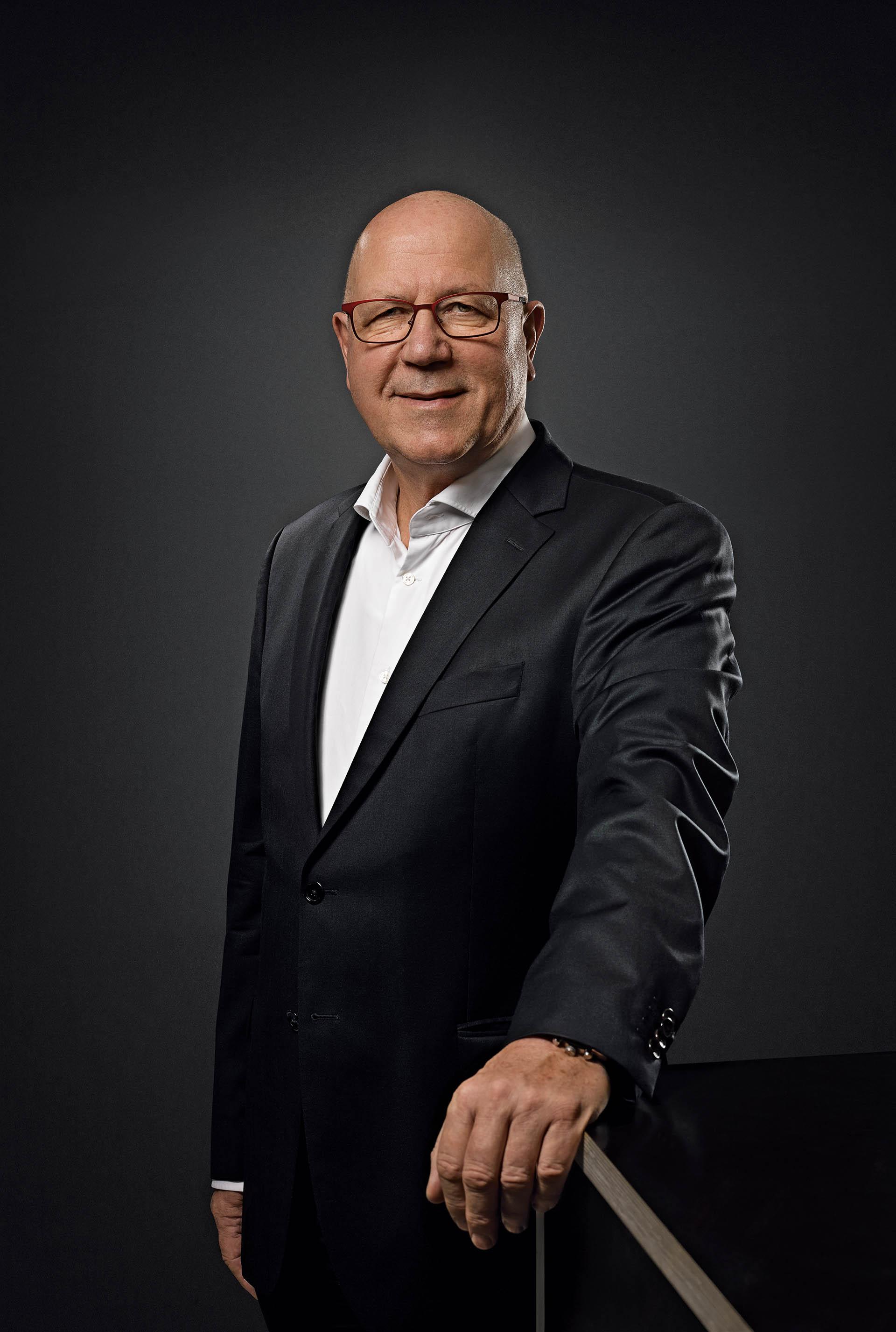 Oris Vorstandsvorsitzender Ulrich Herzog, Uhrenhersteller