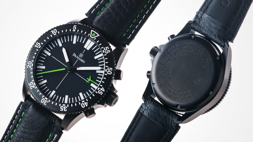 Damasko Chronograph DC 80 Black