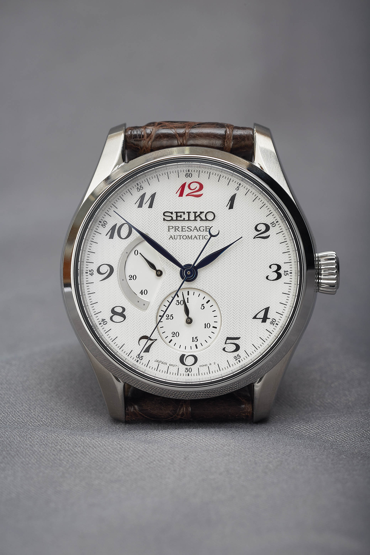 Seiko Presage Multifunktion, Uhr