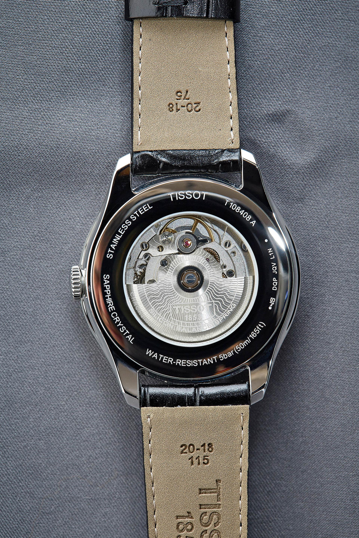 Tissot Ballade COSC Silizium Werkansicht, Uhr