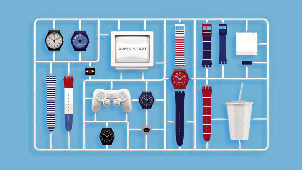 Individualität zum Einstiegspreis: Swatch macht eigene Designs möglich