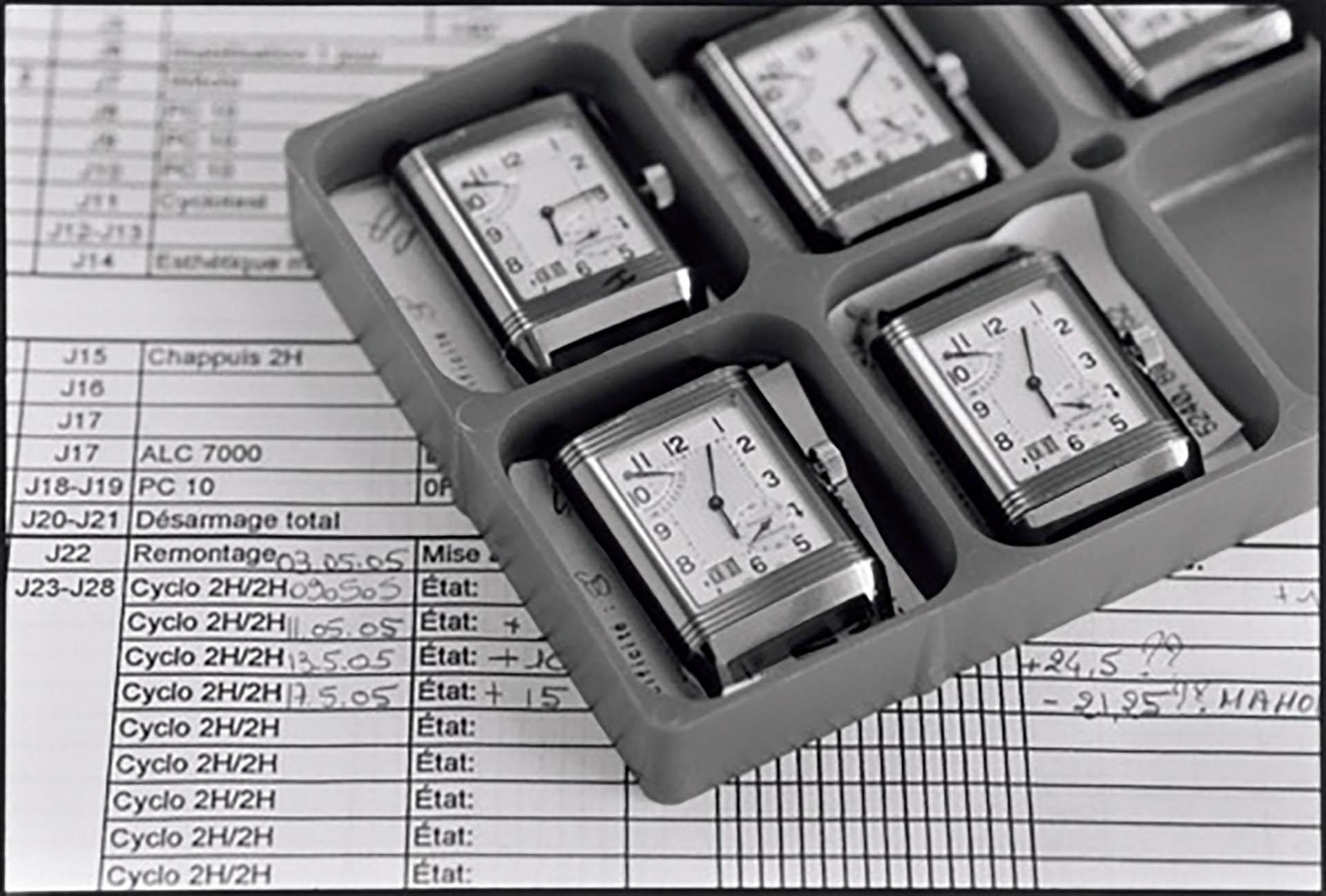 Jaeger-LeCoultre unterzieht alle Uhren einem 1000-Stunden-Test.