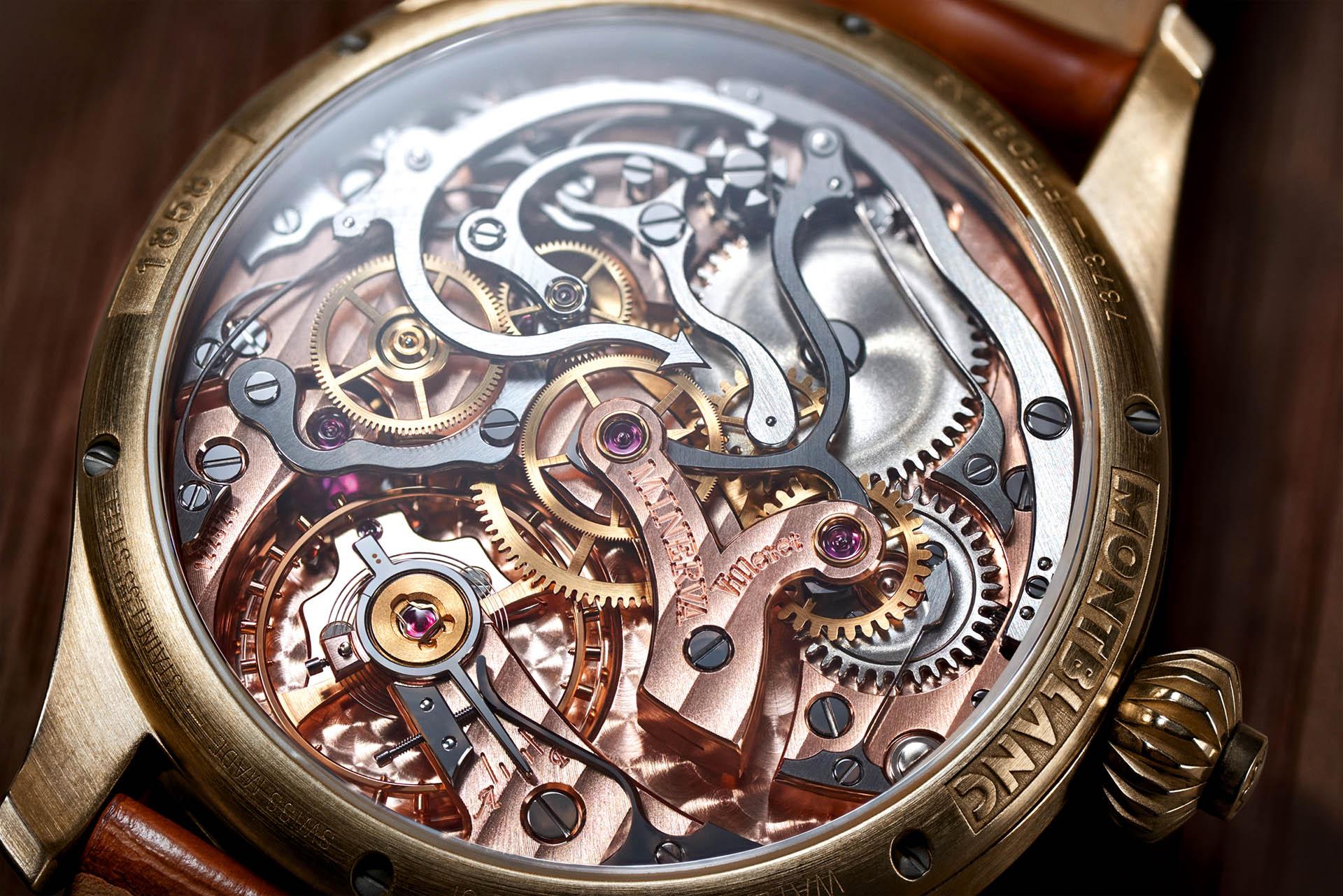 Montblanc 1858 Chronograph Tachymeter