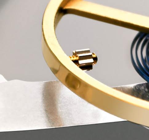 Microstella-Schrauben von Rolex.