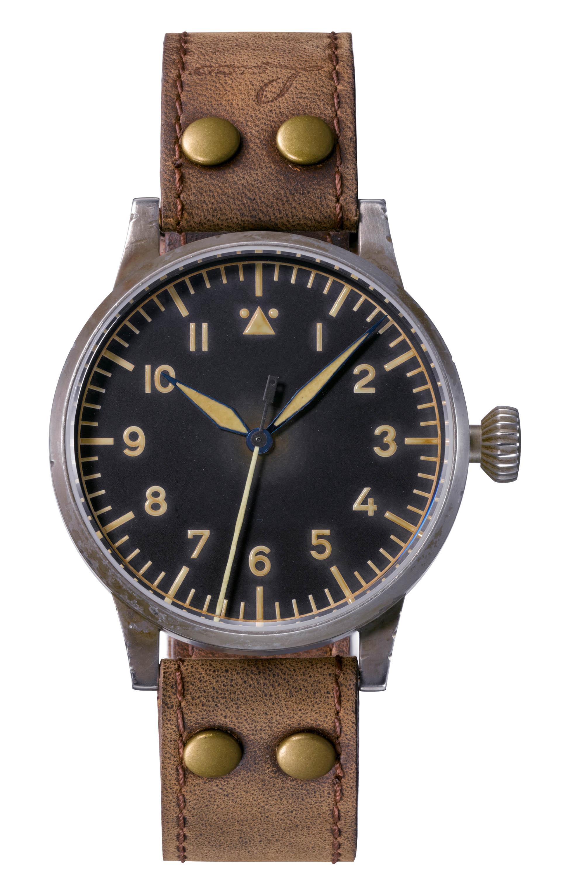 Laco 1925 «Westerland» Erbstück, eine neue Uhr in historischem Look.