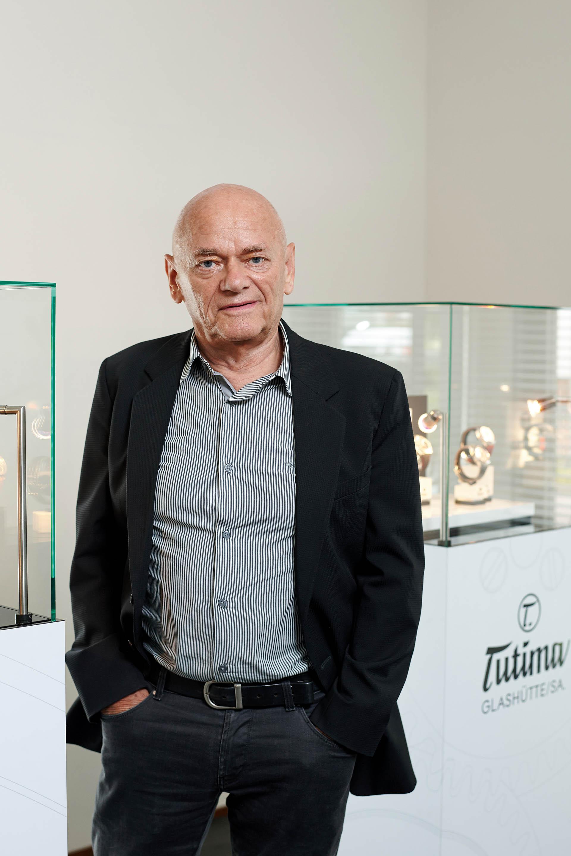 Dieter Delecate brachte Tutima zurück nach Glashütte.