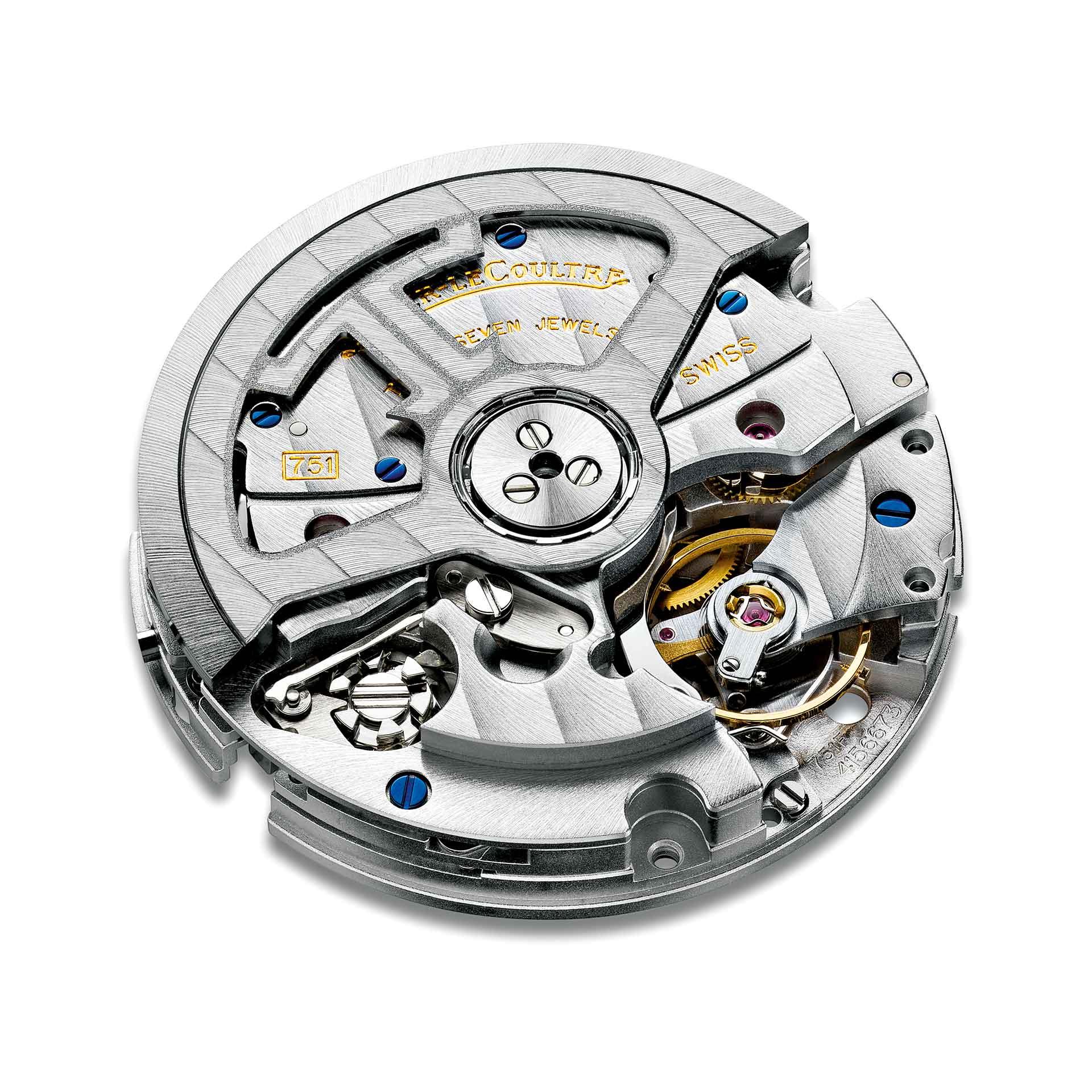 Im 42 Millimeter großen Edelstahlgehäuse des Polaris Chronograph arbeitet das hauseigene Automatikkaliber 751.