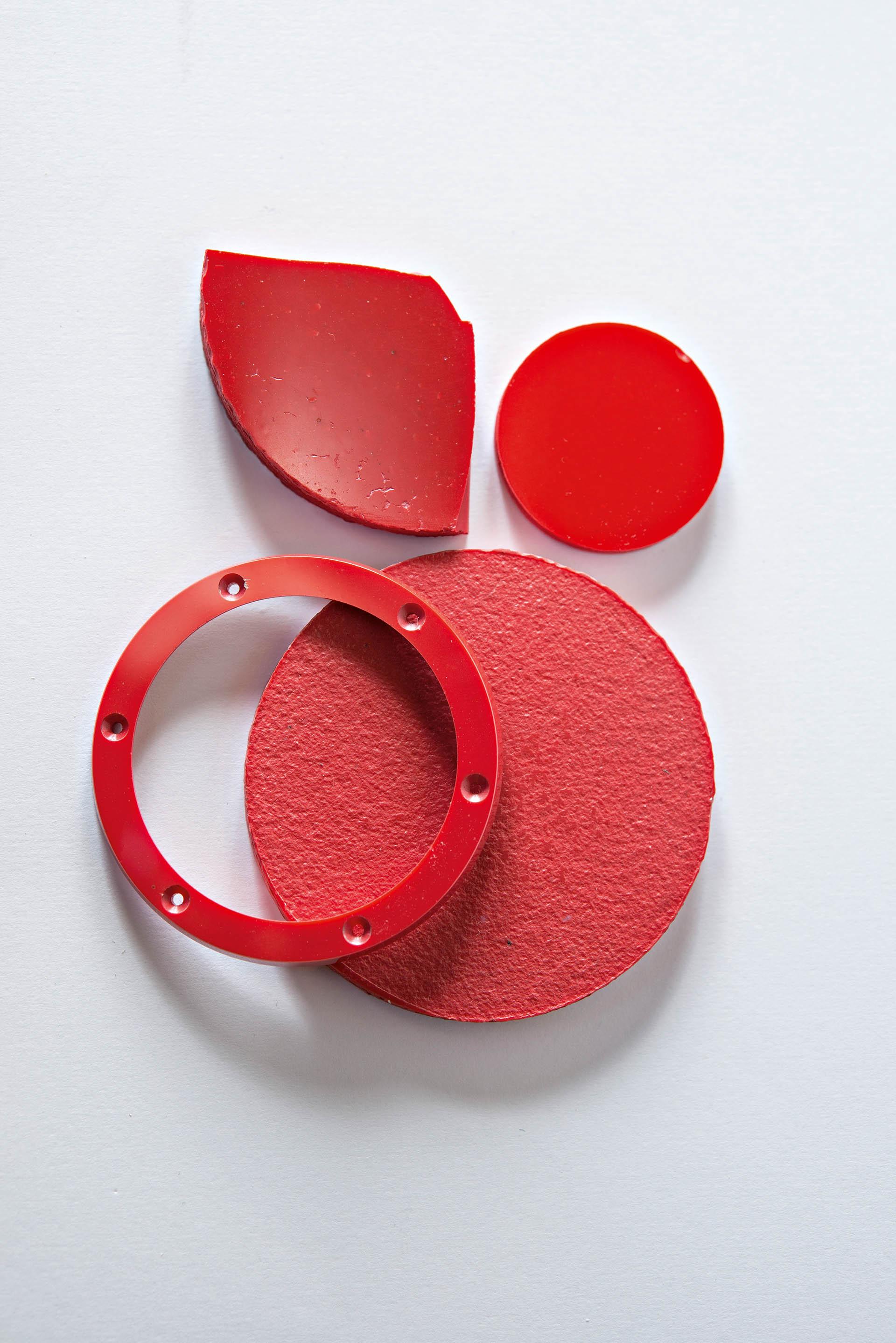 Rote Keramik von Hublot