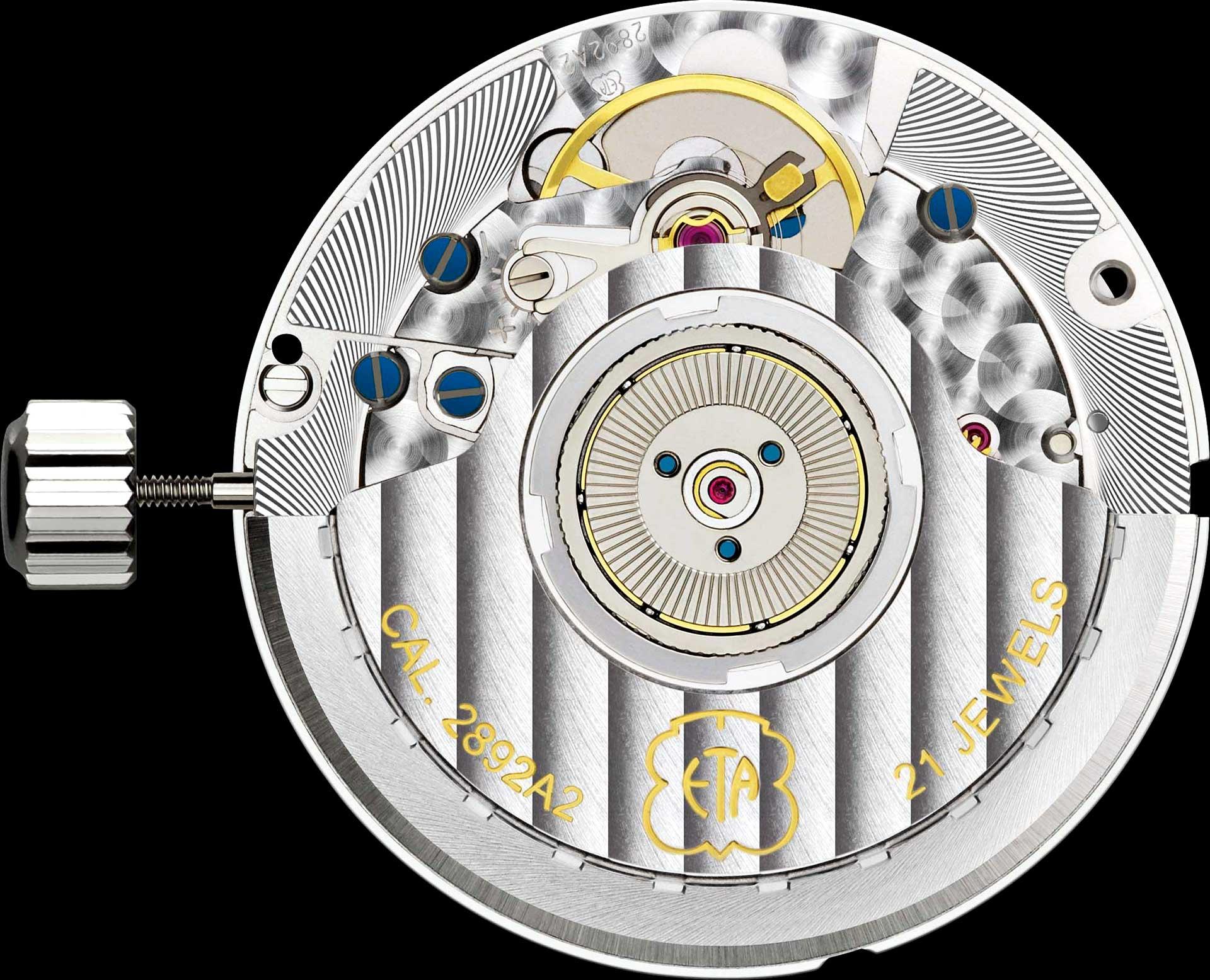 Es zählt heute zu den am weitesten verbreiteten mechanischen Uhrwerken: das Kaliber ETA 2892-A2 mit kugelgelagertem Rotor.