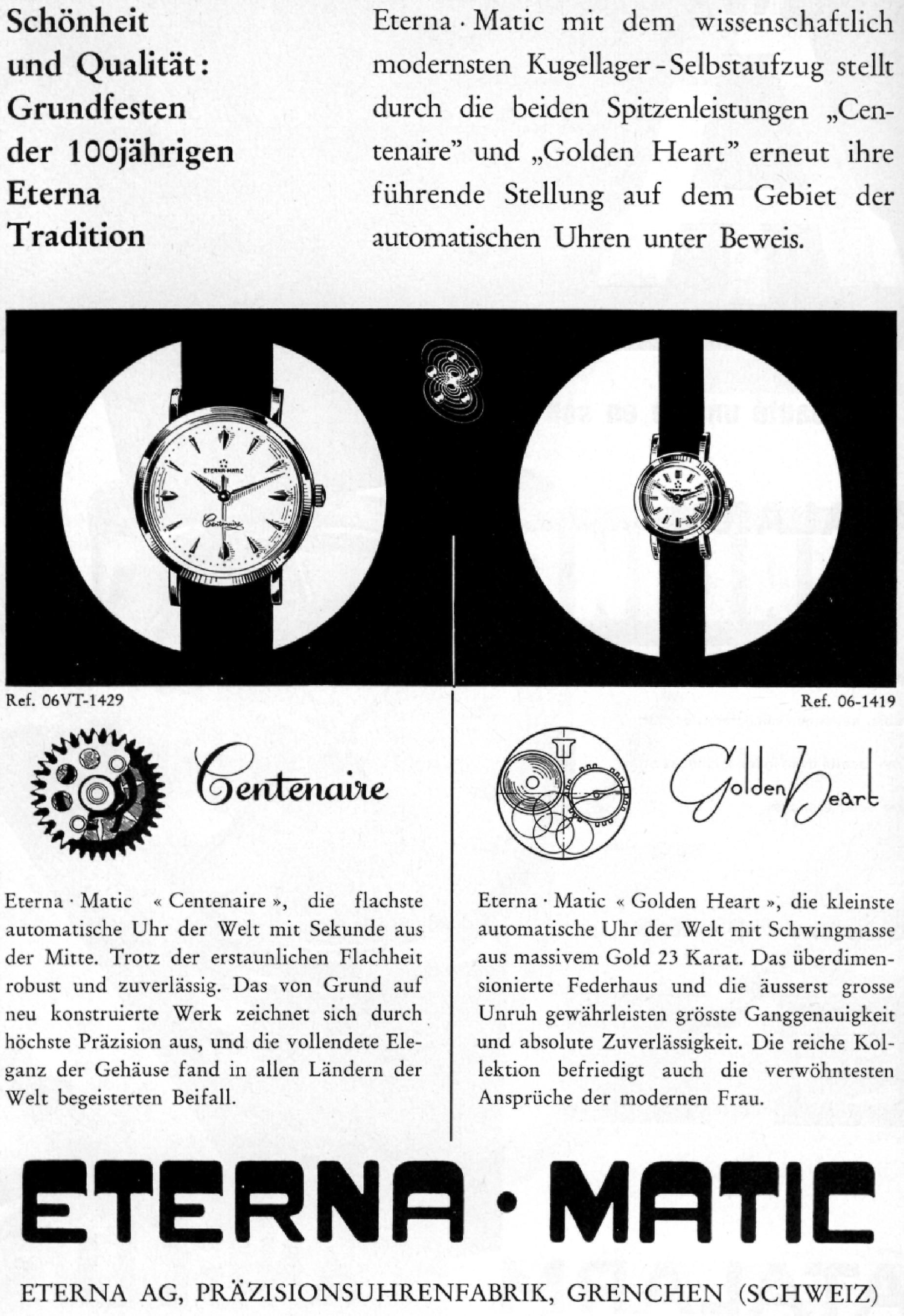 Eterna Matic von Heinrich Stamm