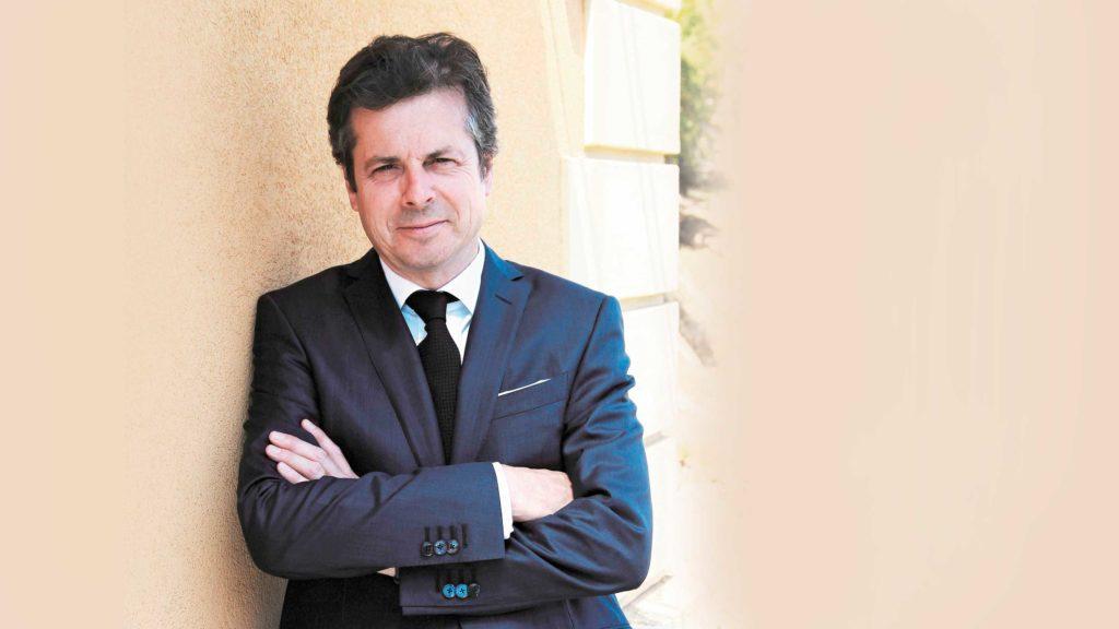 Jérôme Biard leitet die Uhrenmarken Corum und Eterna.