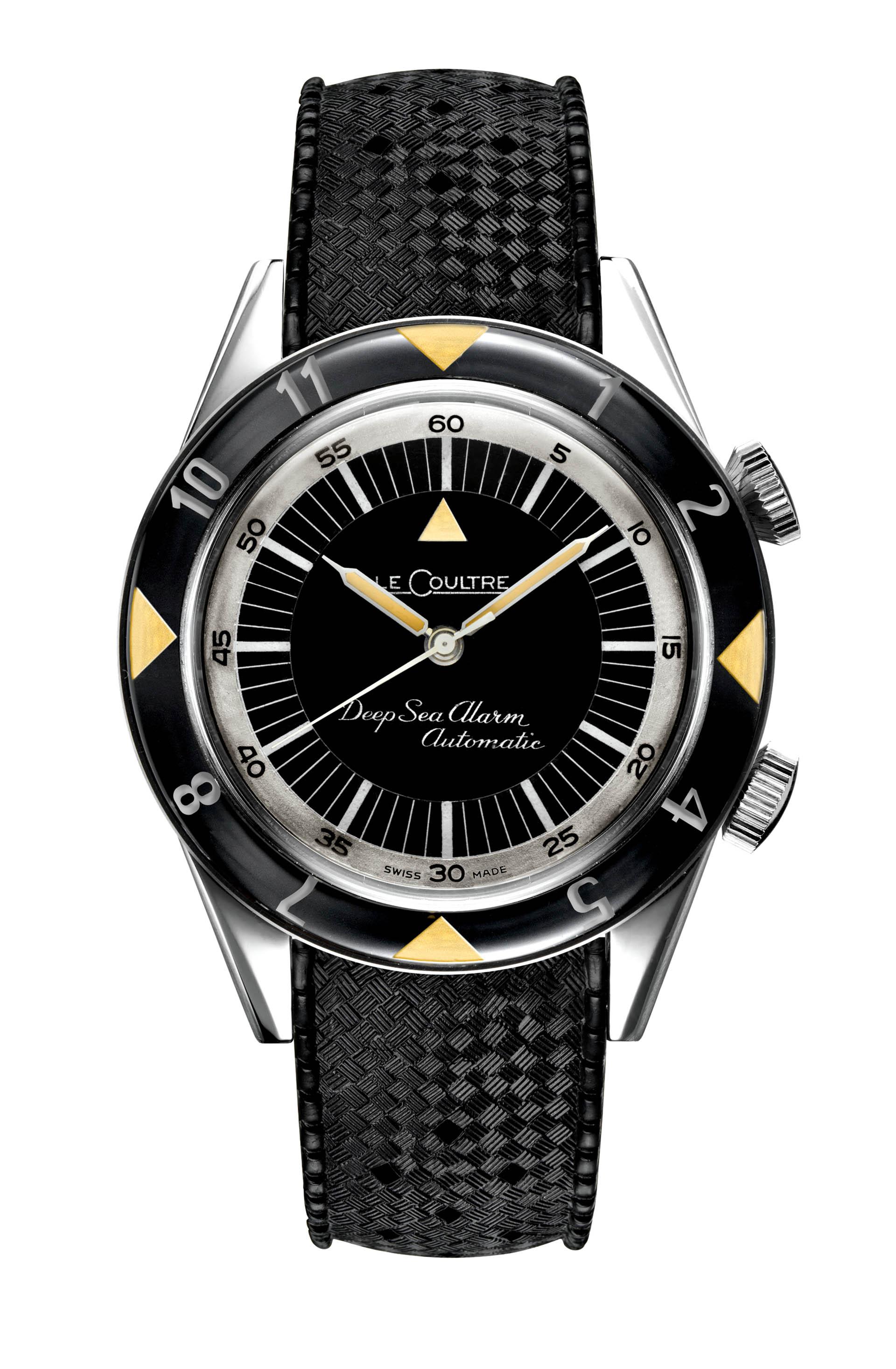 1959: Memovox Deep Sea, die erste Taucheruhr mit Alarmfunktion.