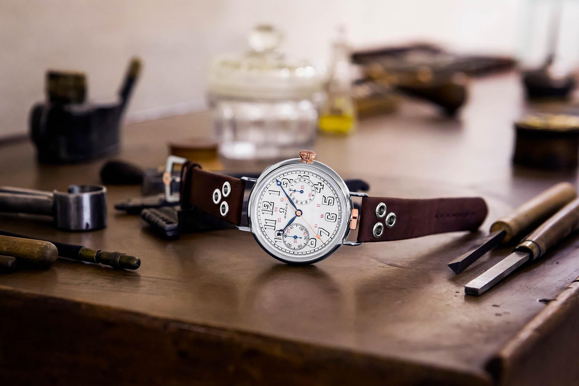 Omega Armbandchronograph Remake