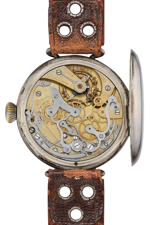 Erster Omega-Armbandchronograph