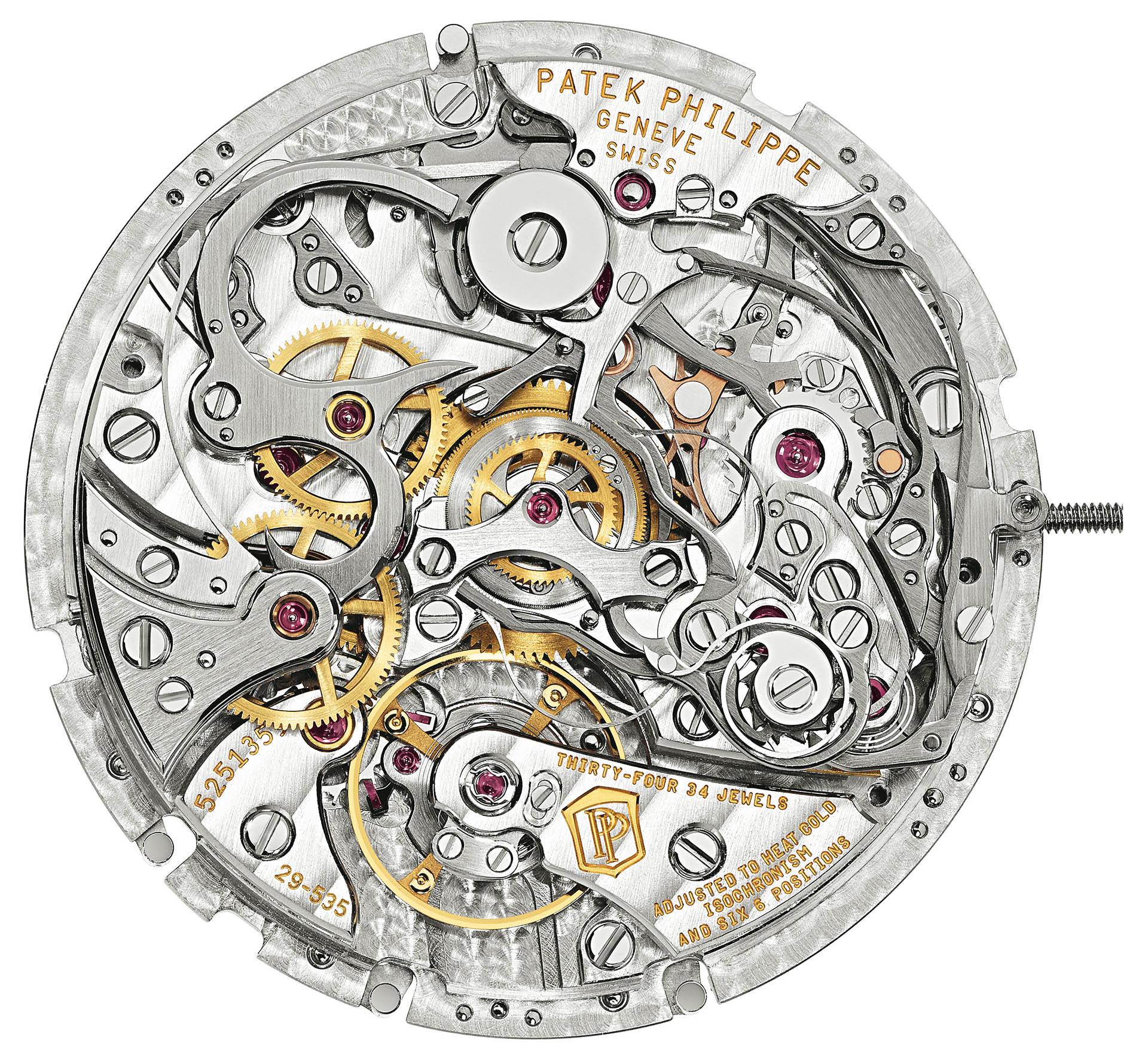 Patek Philippe Schleppzeiger-Chronograph Rattrapante
