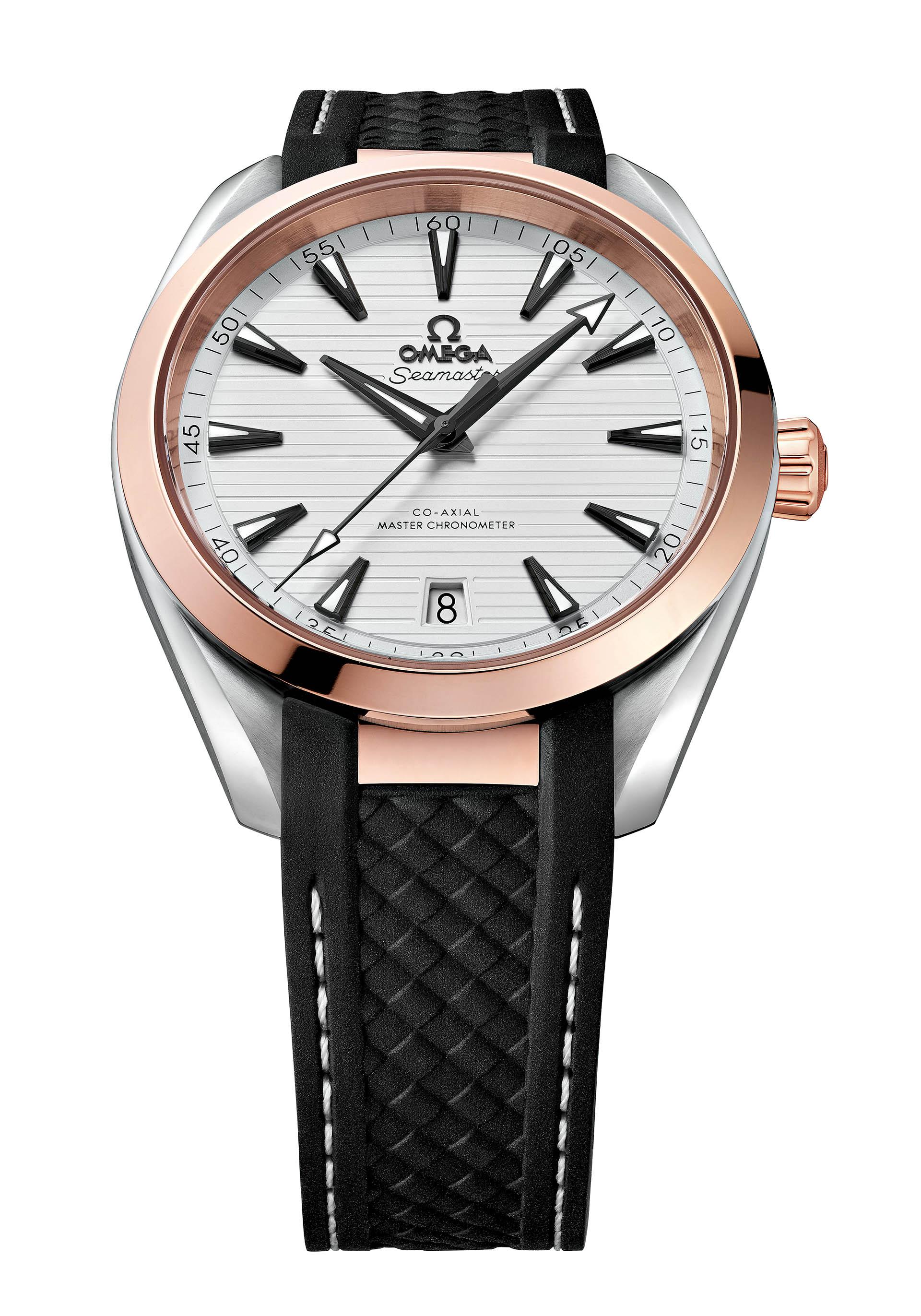 Omega Seamaster Aqua Terra Master Chronometer.