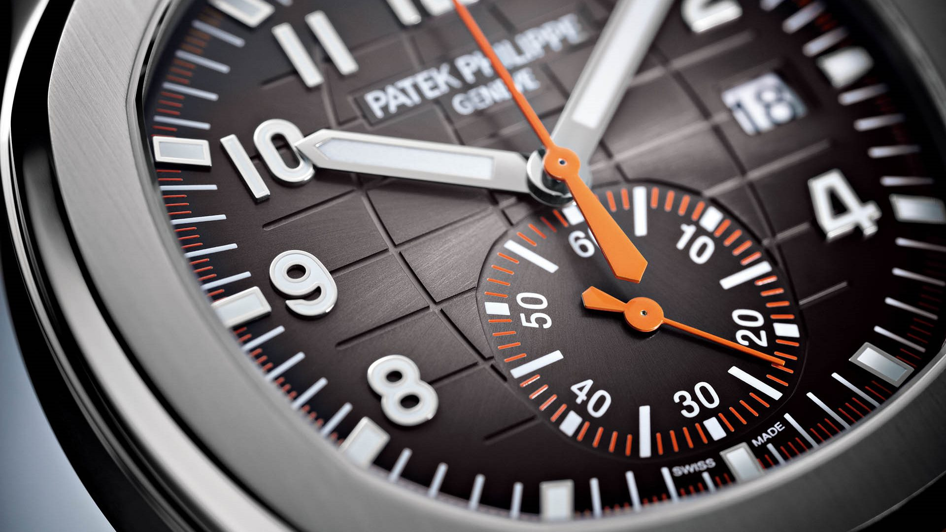 Aquanaut Chronograph von Patek Philippe.