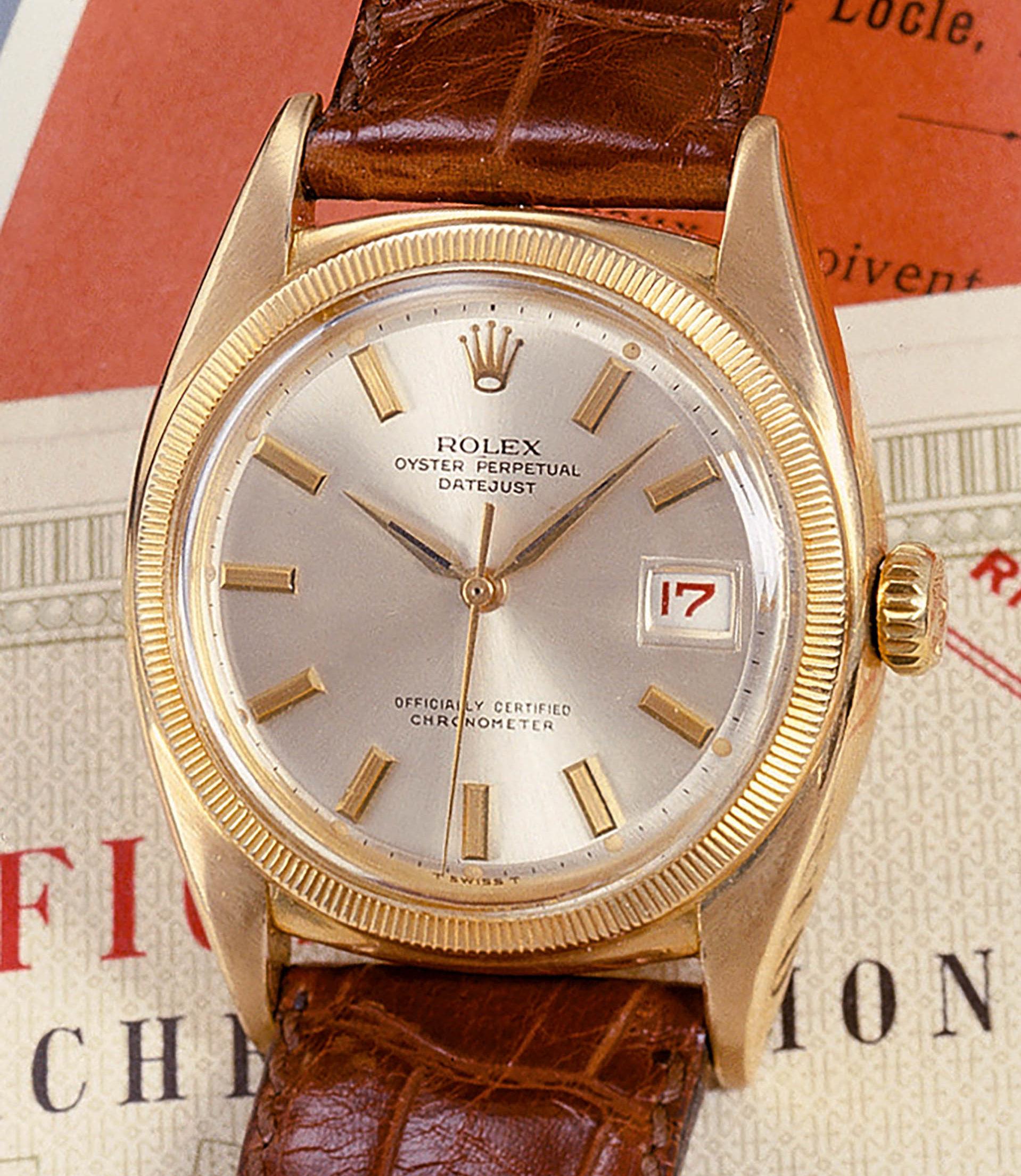 Rolex Oyster Datejust Chronometer von 1952