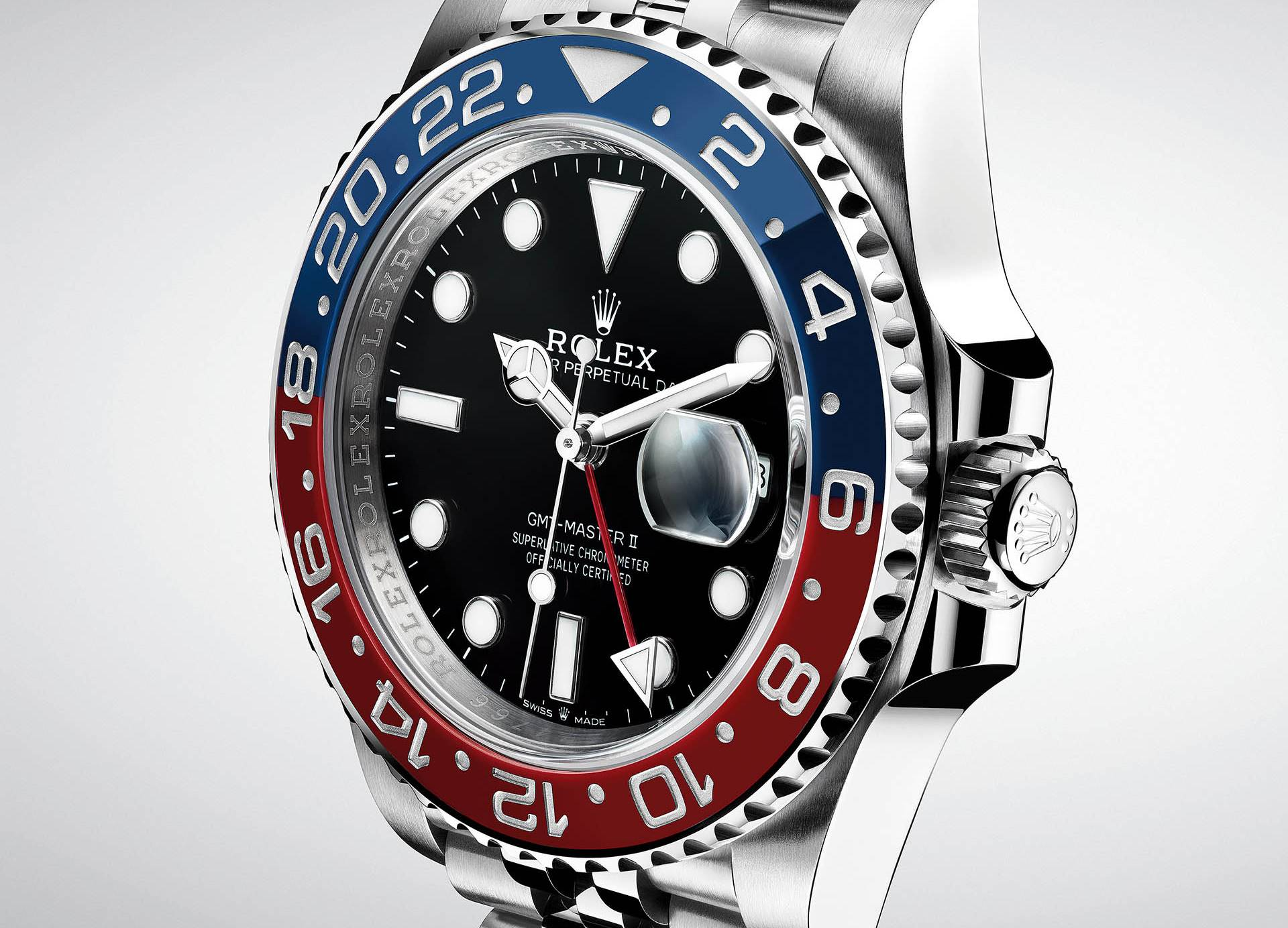 Rolex Oyster Perpetual GMT-Master II.