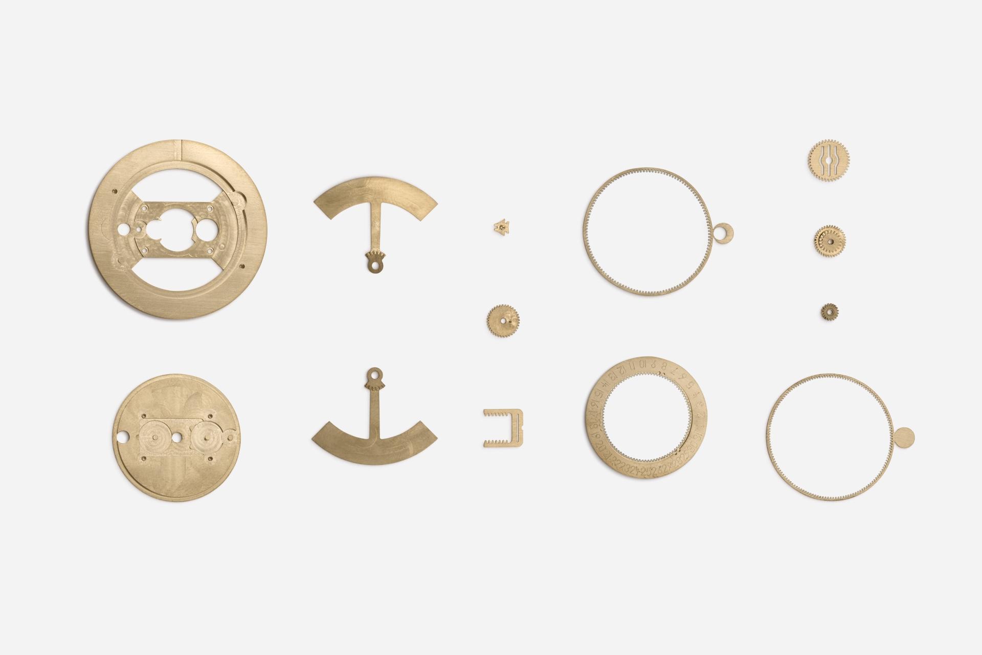 Diese 13 Komponenten ermöglichen die astronomischen Anzeigen der neuen tag/nacht von ochs und junior.