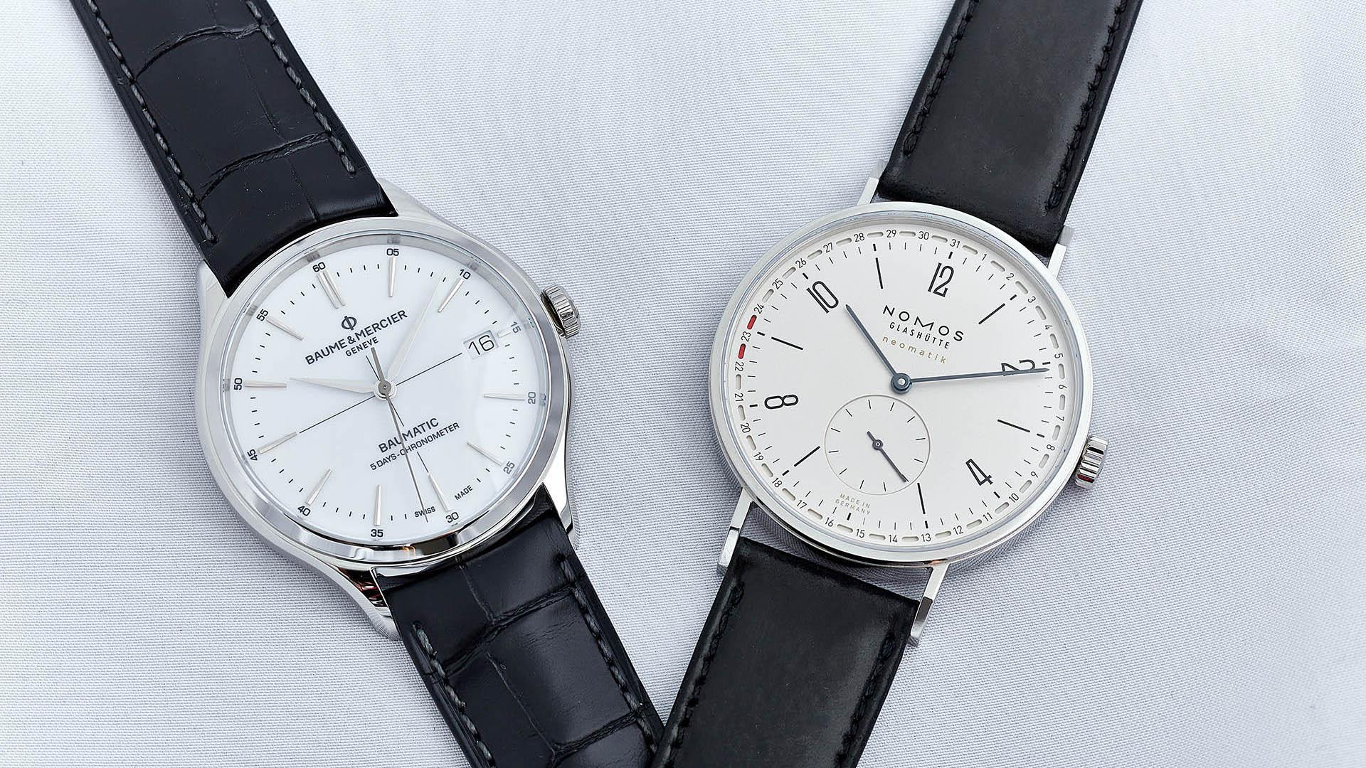 Probezeit: Neue Uhrwerke
