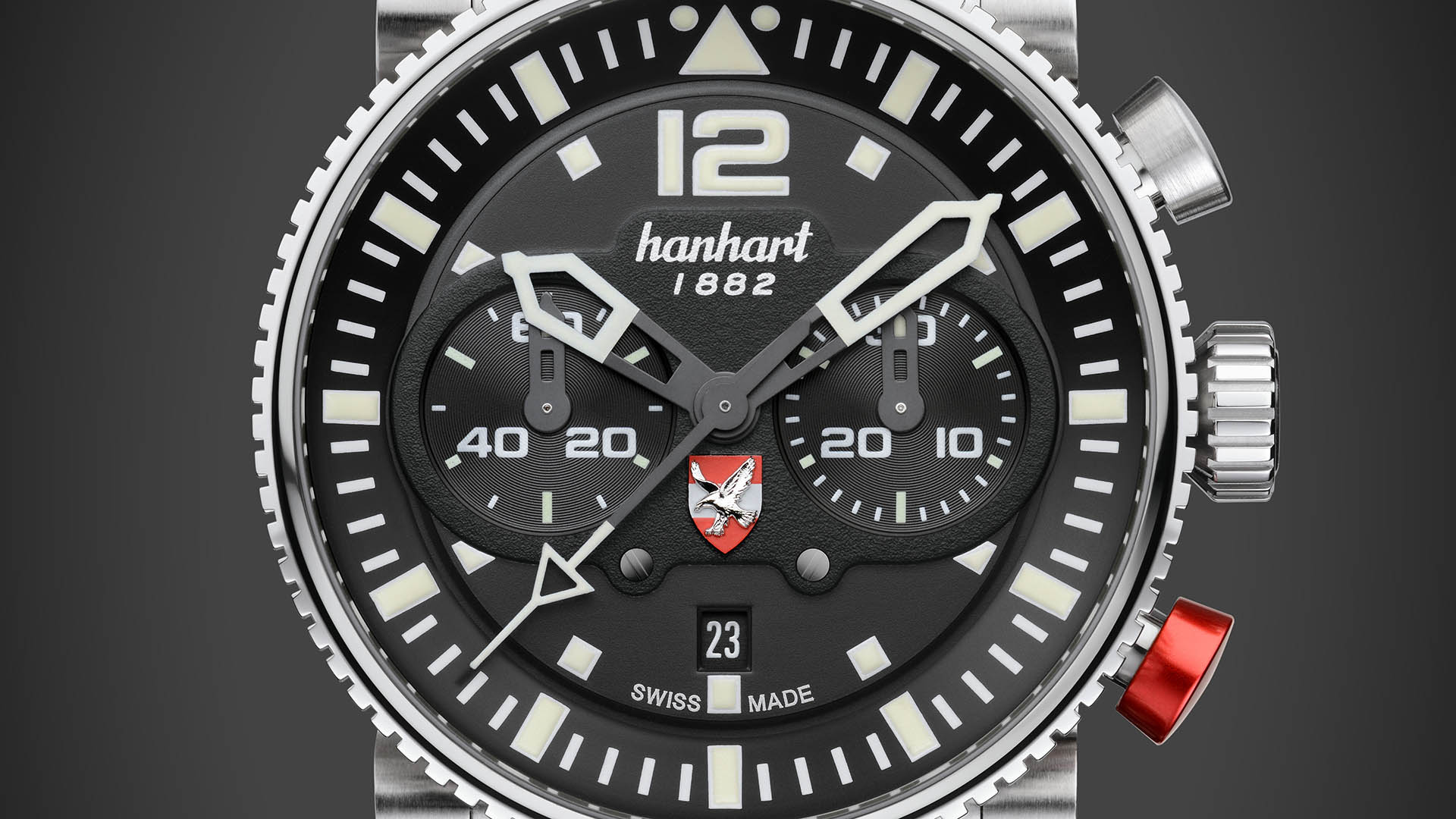 Primus Austrian Air Force Pilot Limited Edition in poliertem Edelstahl