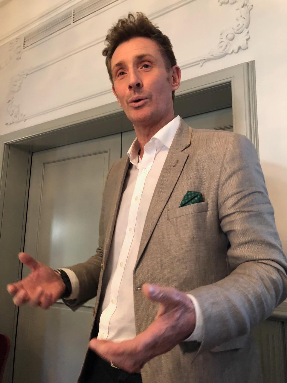 Bremont-Mitbegründer Nick English