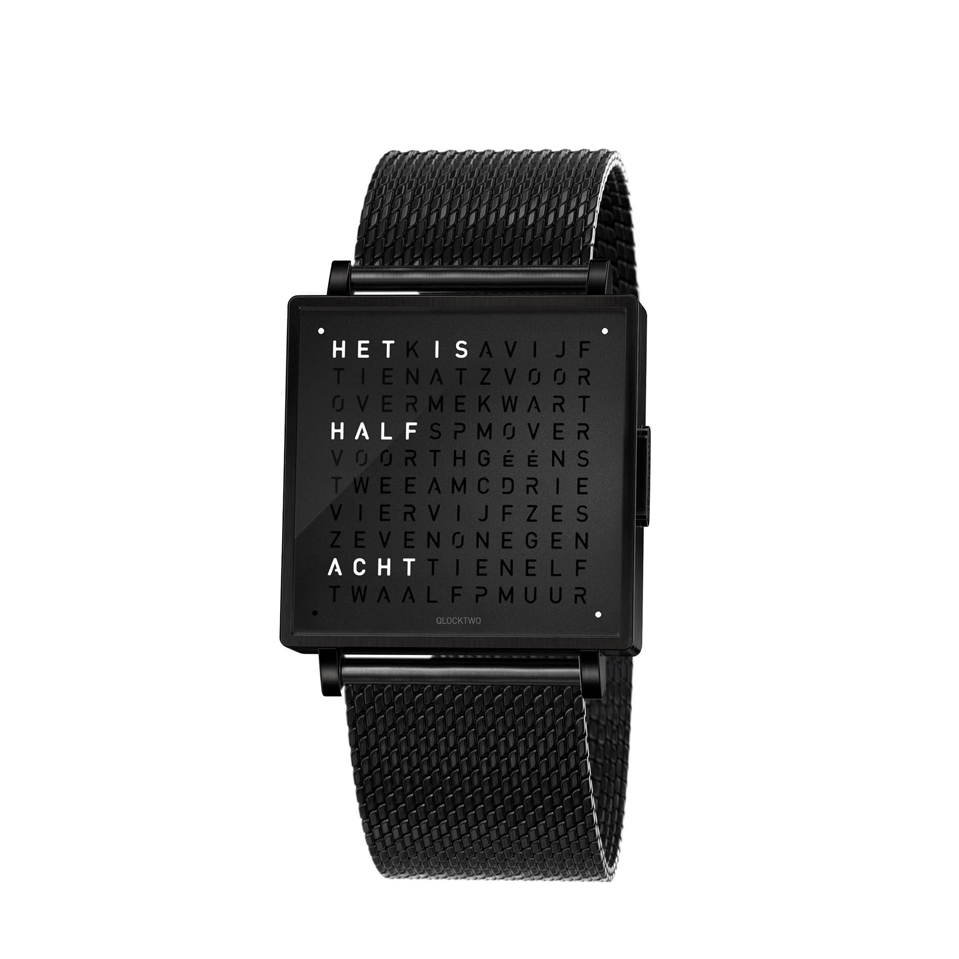 Qlocktwo Armbanduhr W35