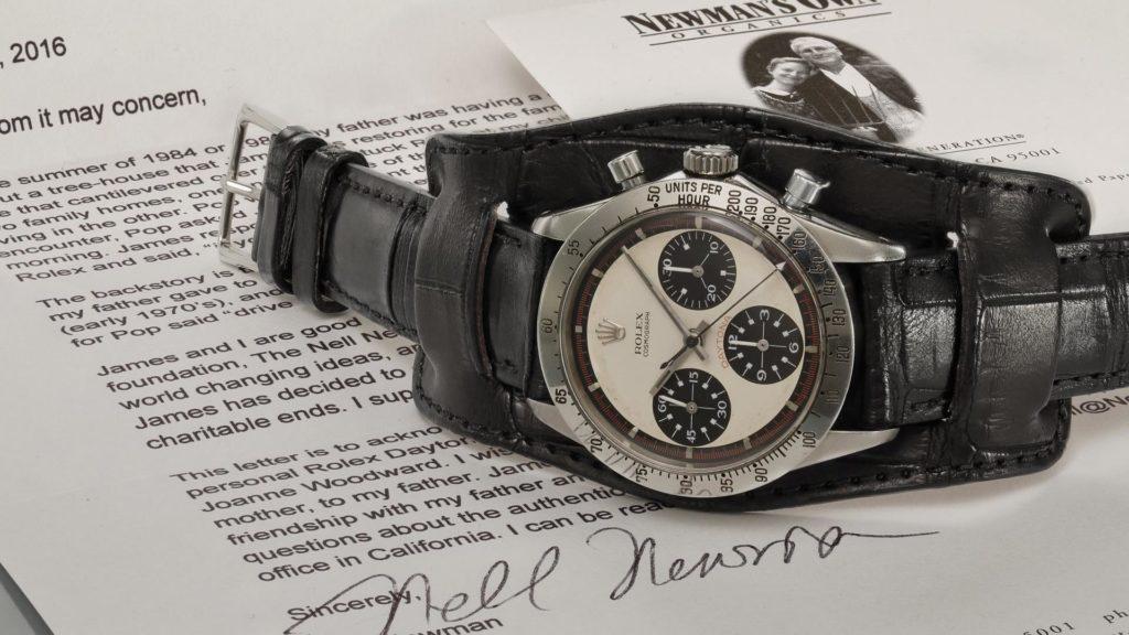 Rolex Daytona Paul Newman verkauft vom Auktionshaus Phillips