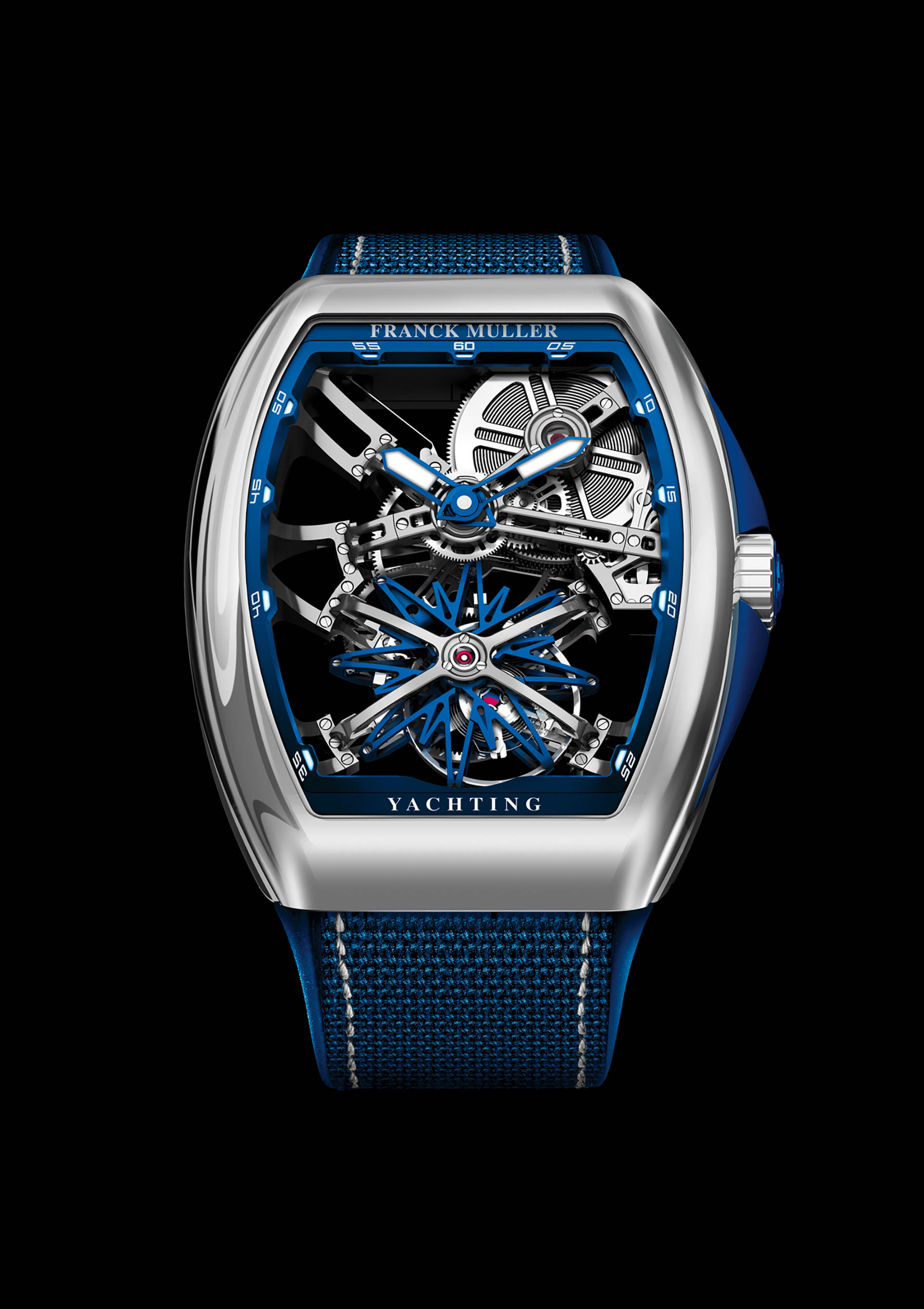FRANCK MULLER VANGUARD GRAVITY YACHTING SKELETON