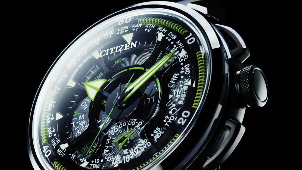 Satellite Wave GPS F990 von Citizen