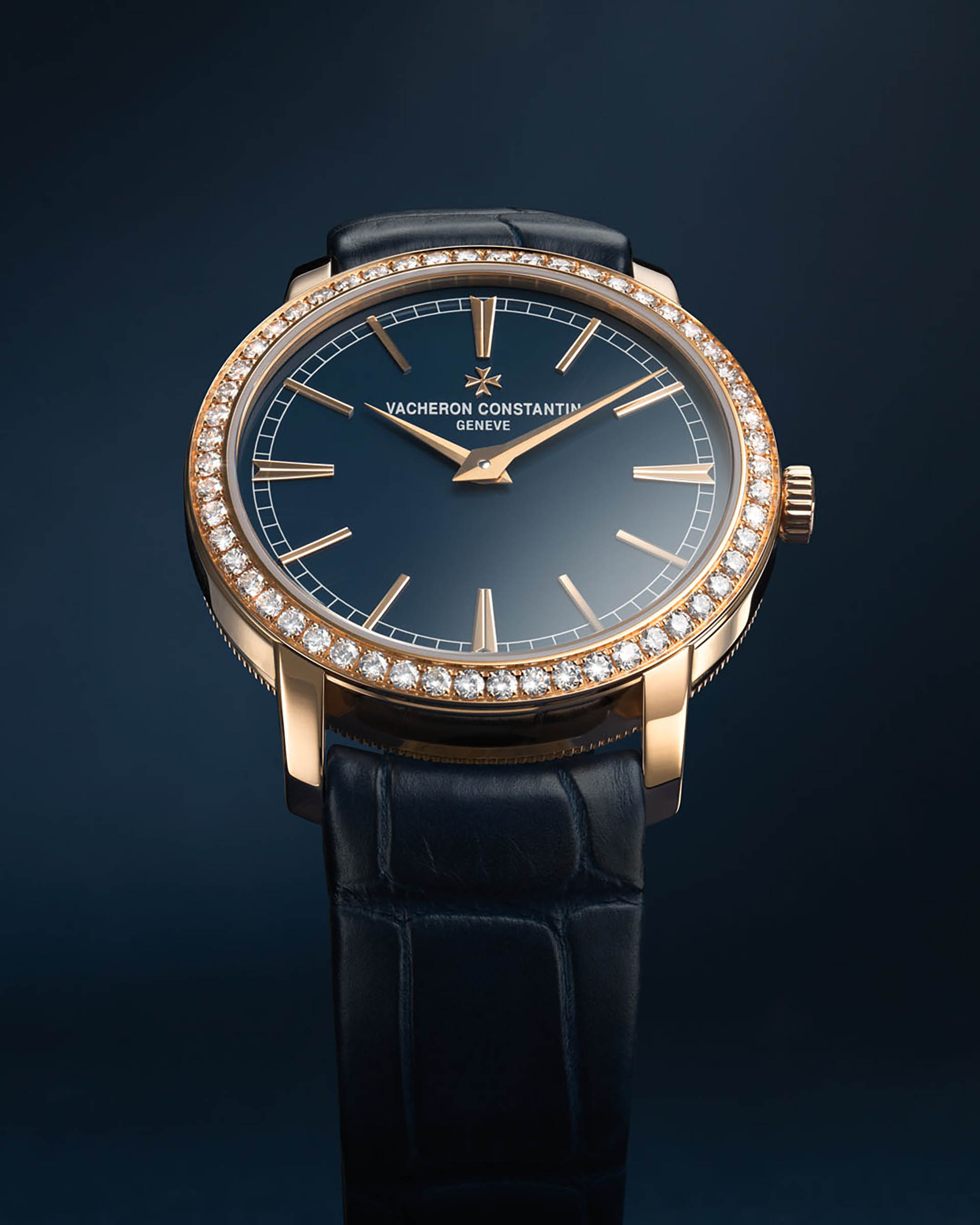 Bucherer Blue Editions von Vacheron Constantin Damenuhr.