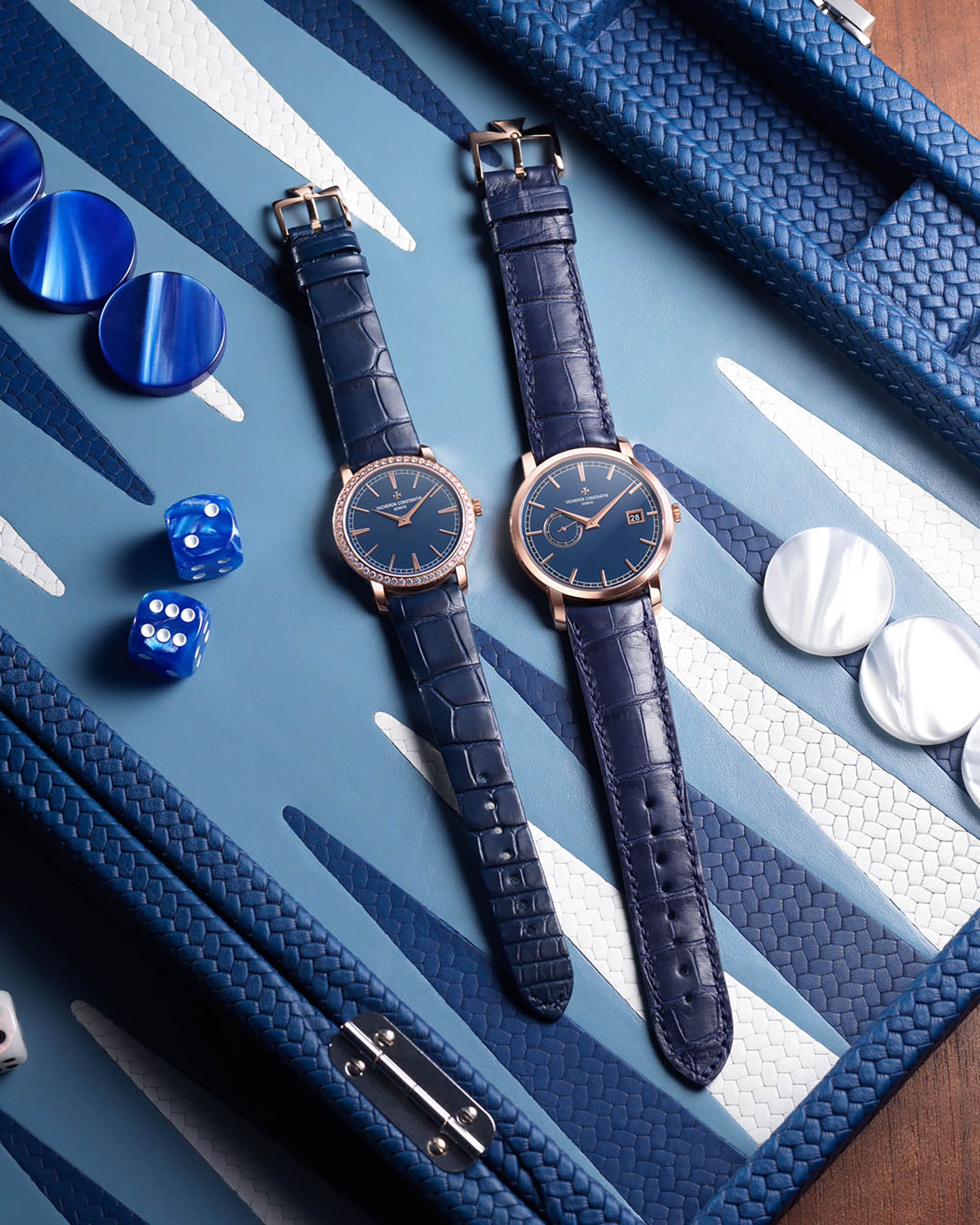 Bucherer Blue Editions: Traditionelle von Vacheron Constantin.