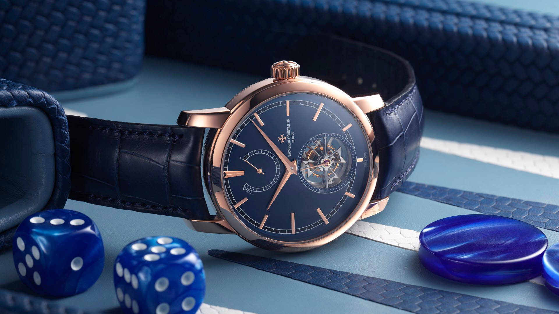 Bucherer Blue Editions 14-Tage Tourbillon von Vacheron Constantin.