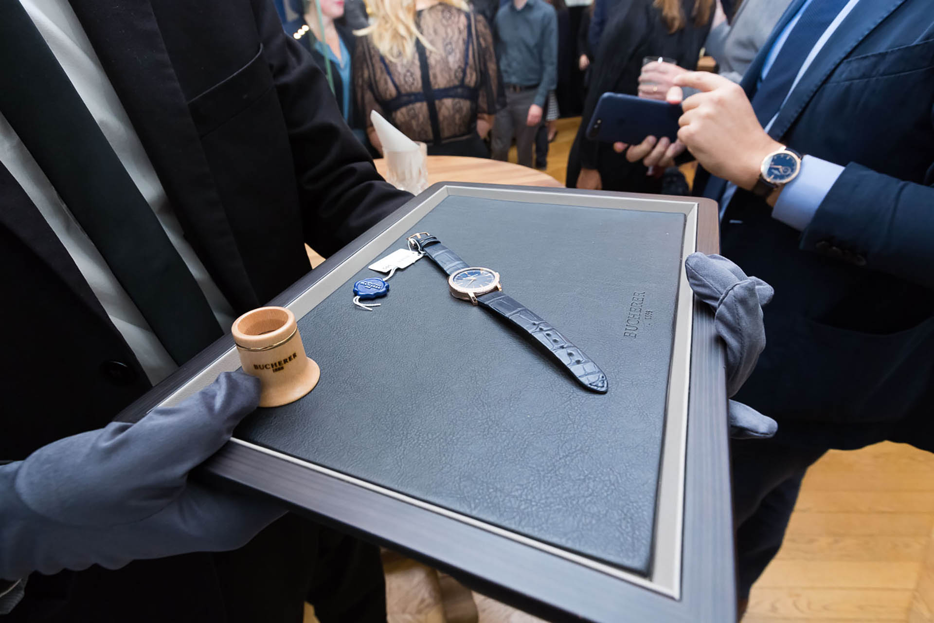 Bucherer Blue Editions Traditionelle von Vacheron Constantin.