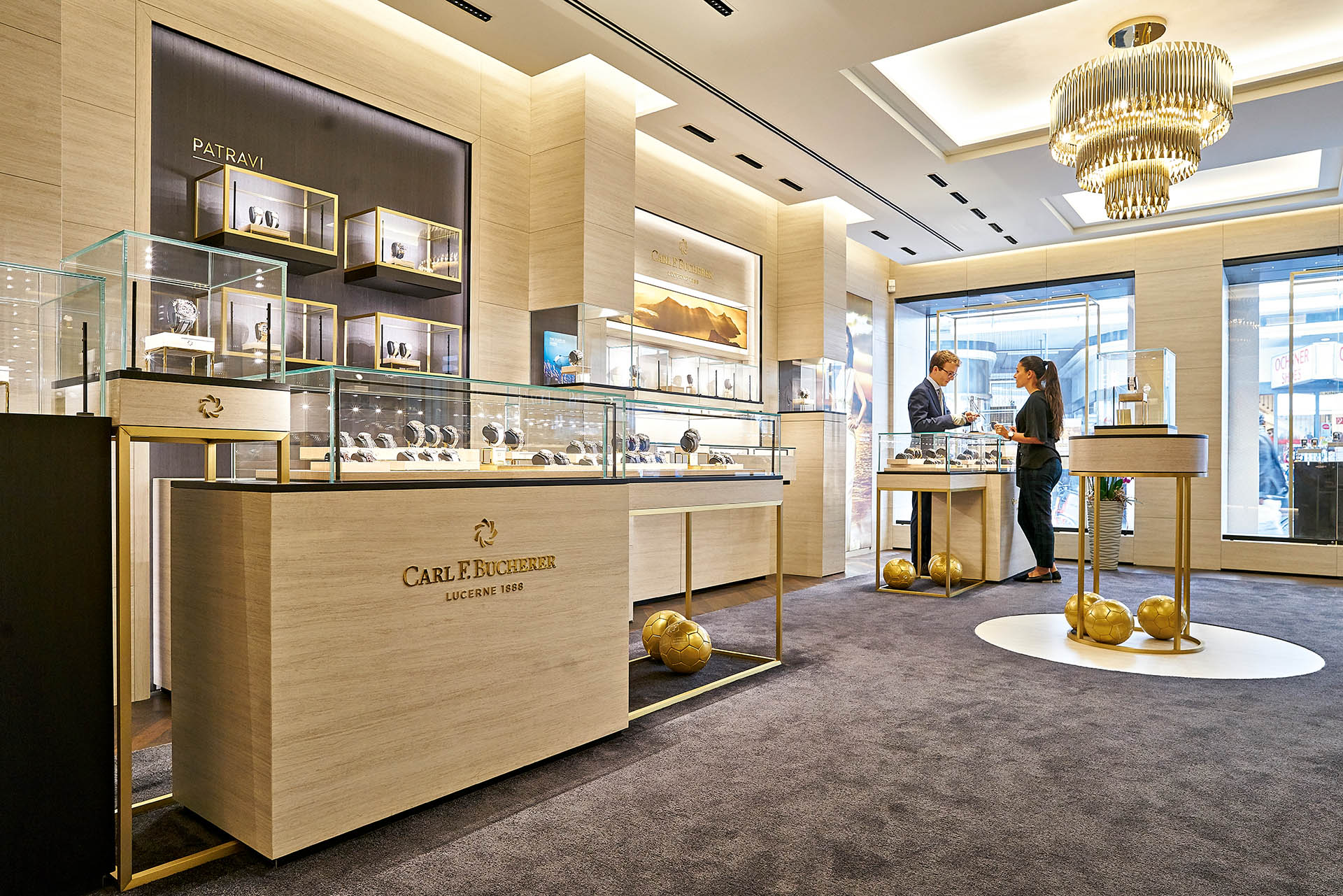 Carl F. Bucherer Boutique Luzern