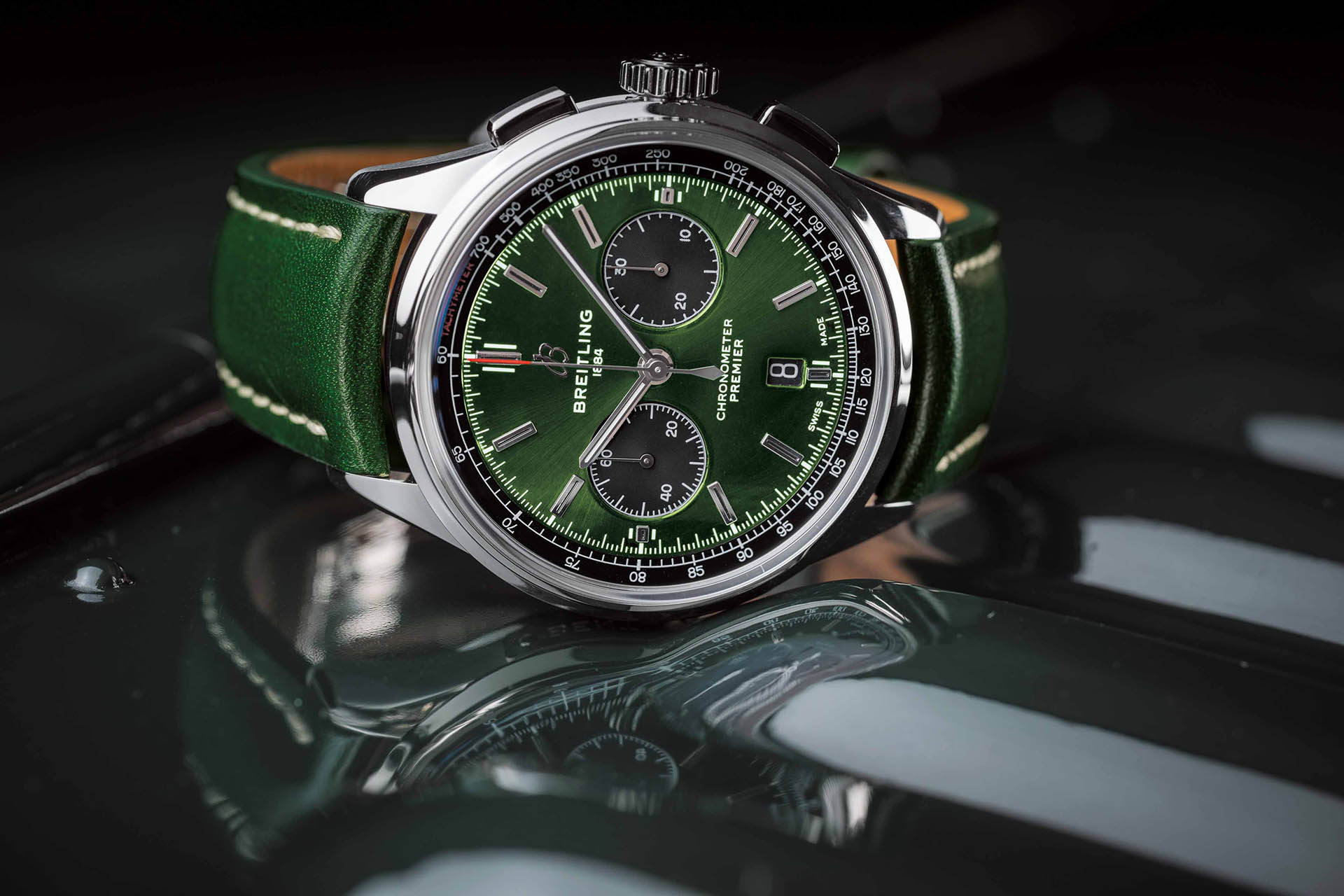 Breitling Premier B01 Chronograph 42 Bentley in British Racing Green