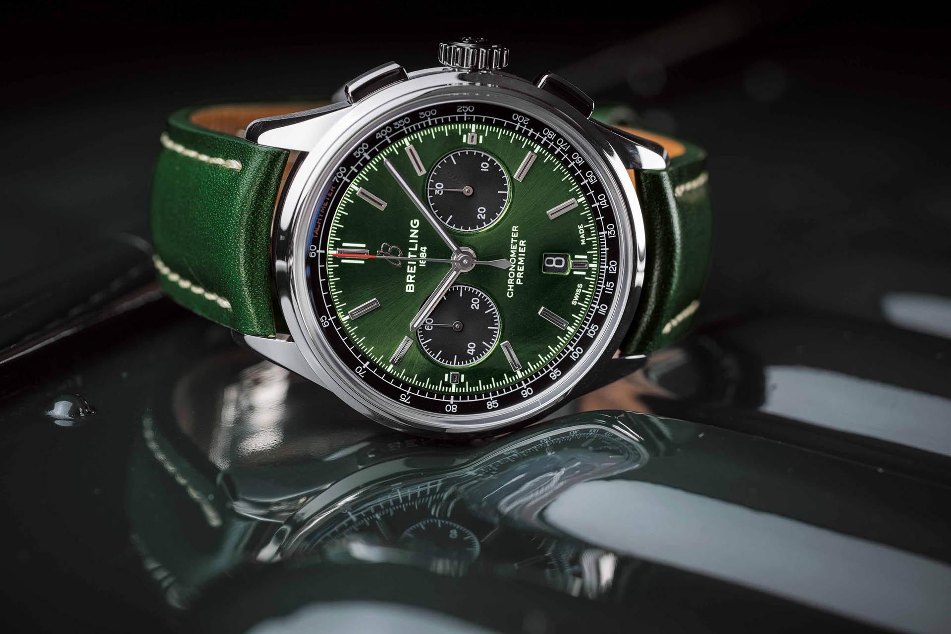 Breitling Premier B01 Chronograph 42 Bentley in British Racing Green
