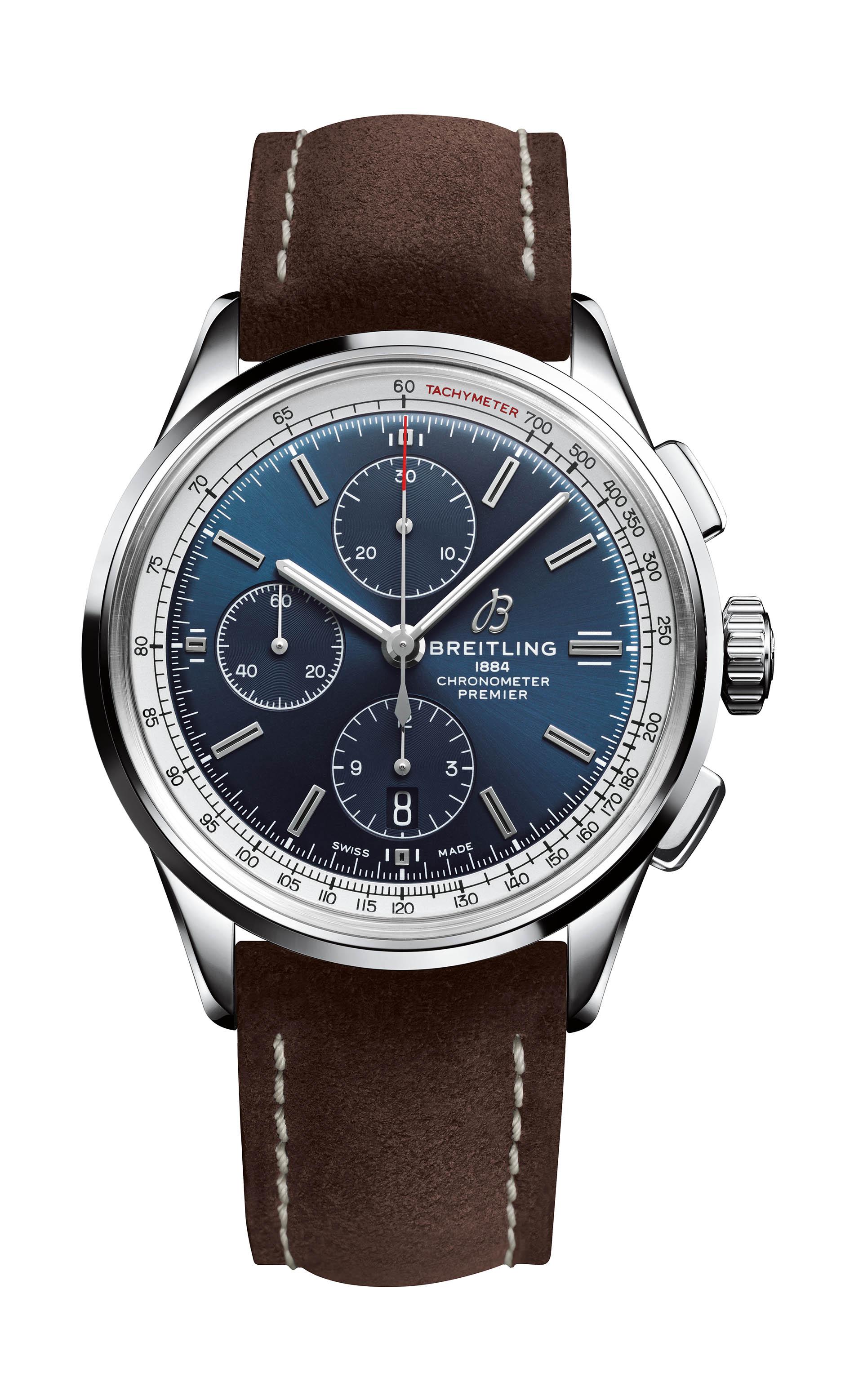 Breitling Premier Chronograph 42 mit Valjoux-Werk