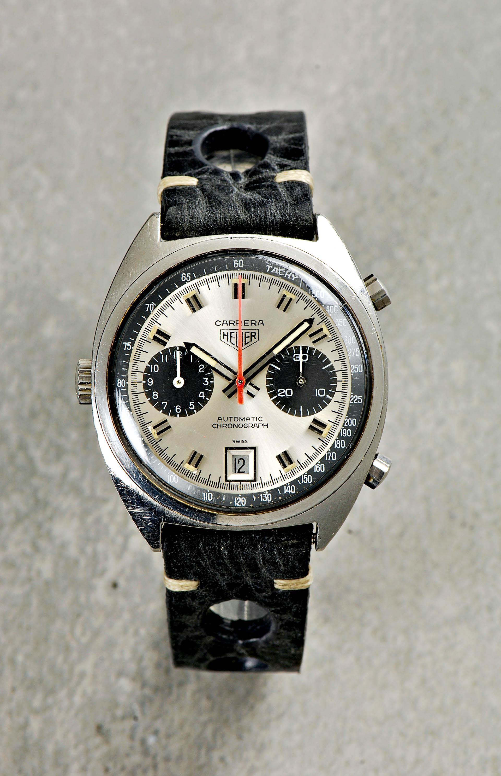 Heuer Carrera Chronograph Automatik (ca. 1972)