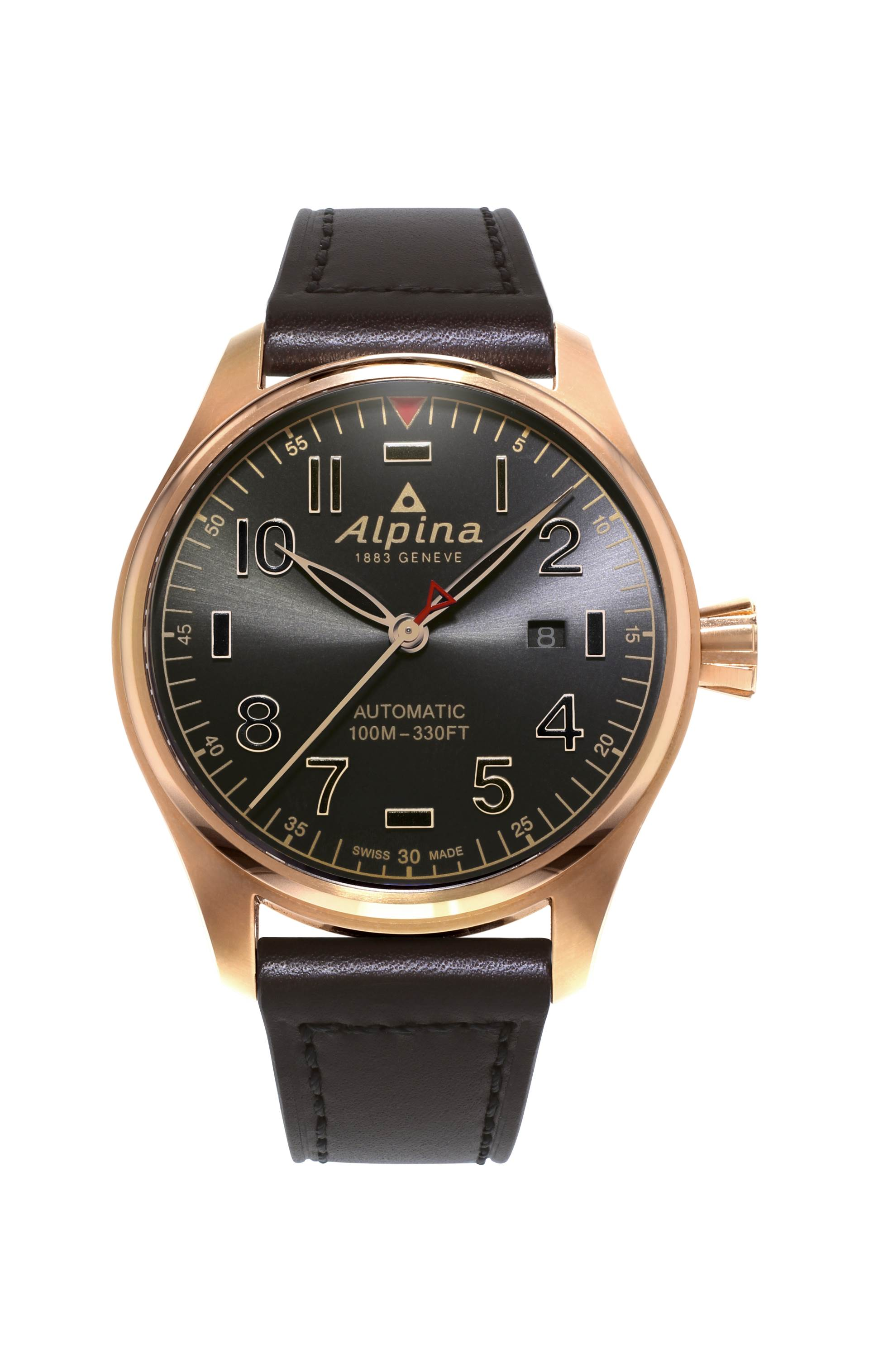 Startimer Pilot Automatic Shadow line von Alpina