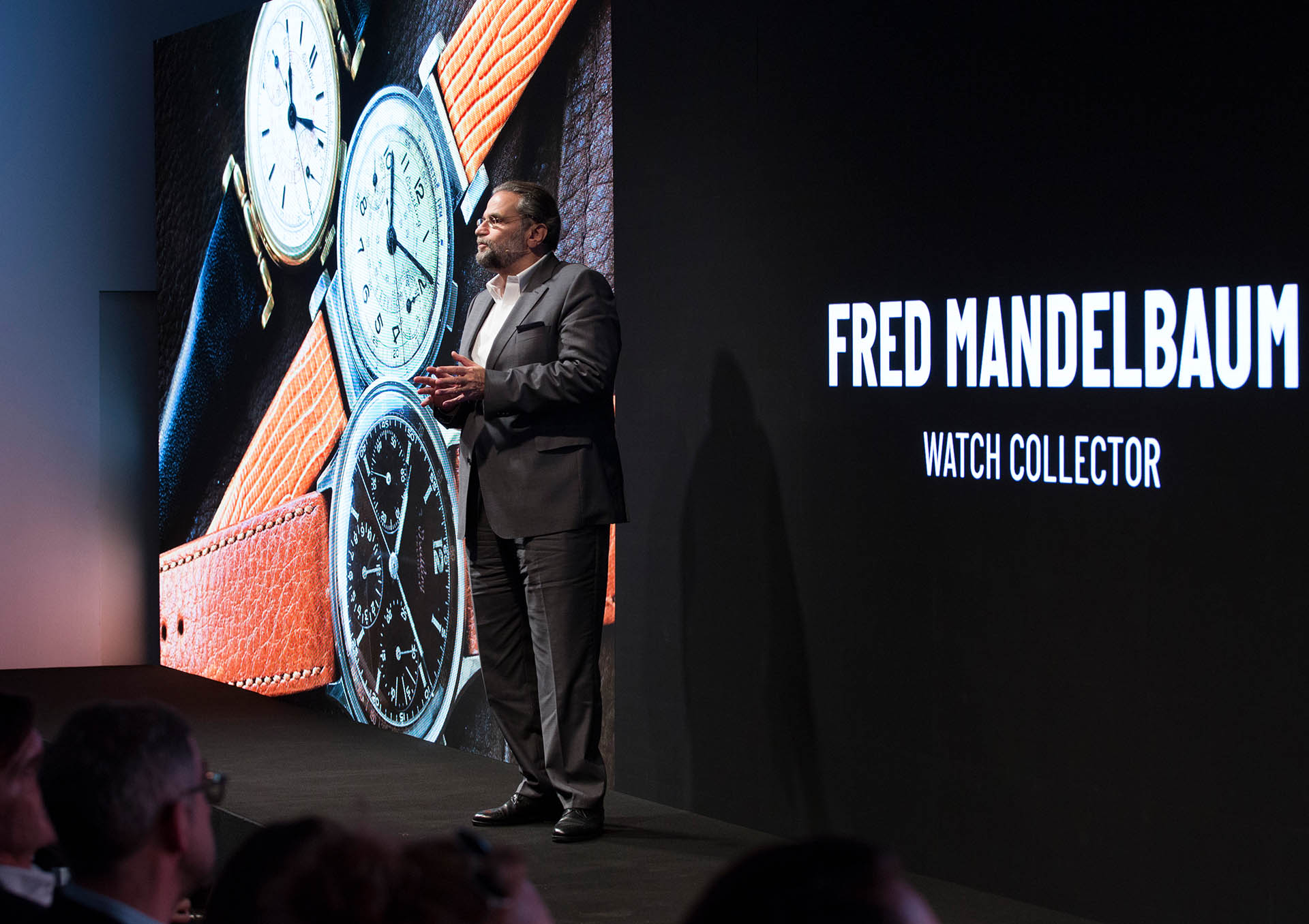 Fred Mandelbaum auf dem Breitling Summit in London am 22. Oktober 2018
