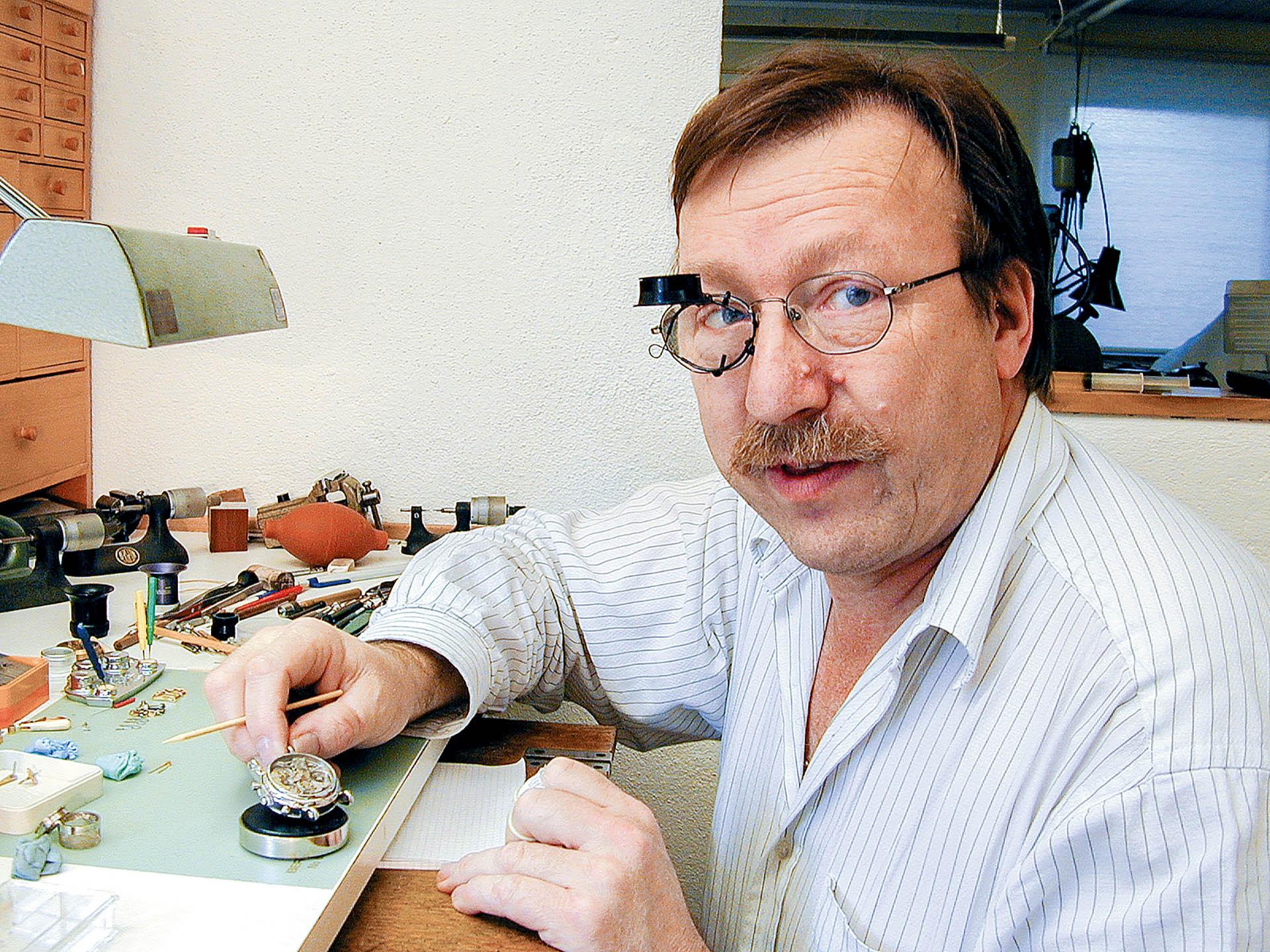 Paul Gerber Komplizierteste Uhr der Welt «Superbia Humanitatis»