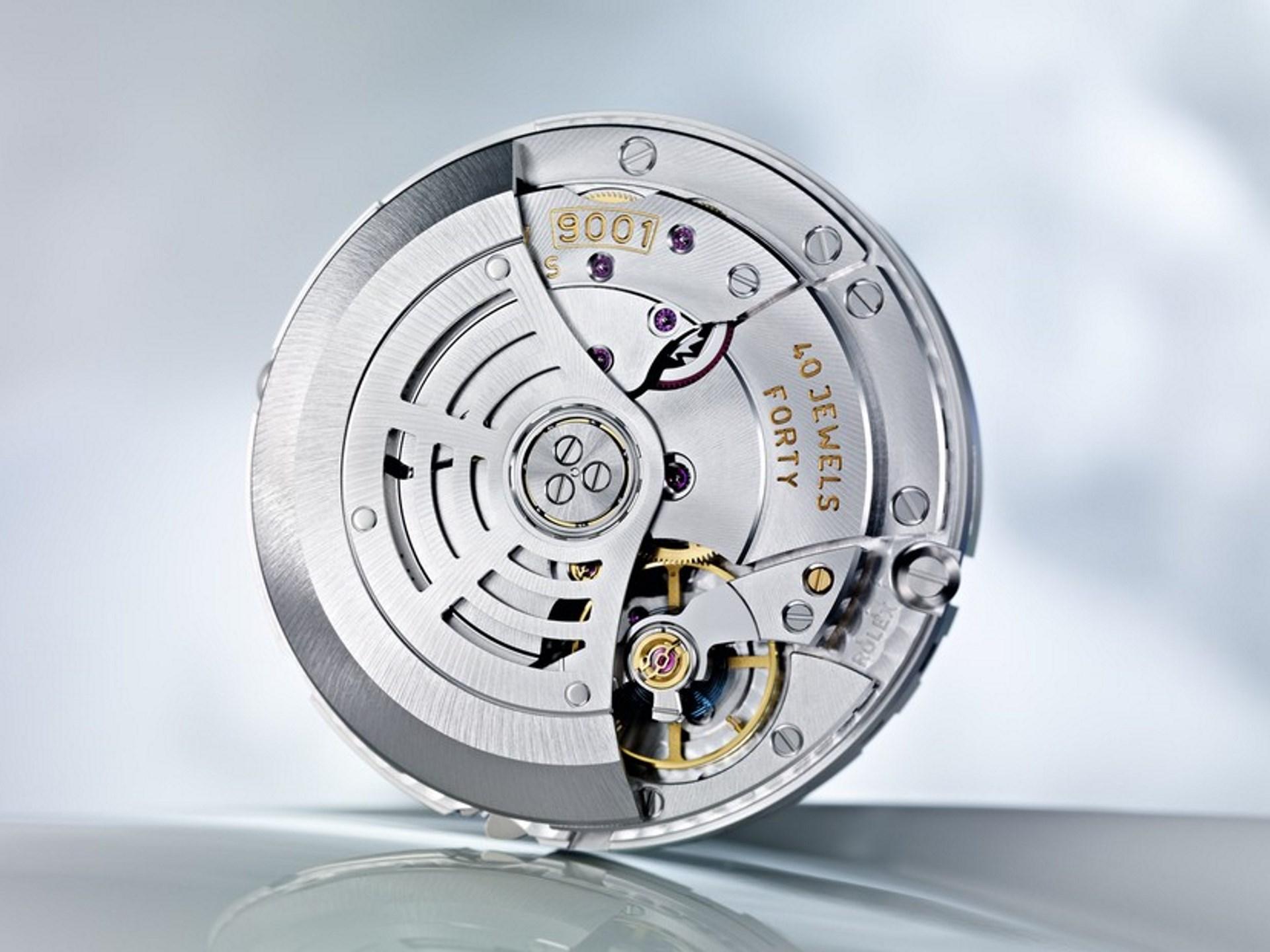 Kaliber 9001 von Rolex.